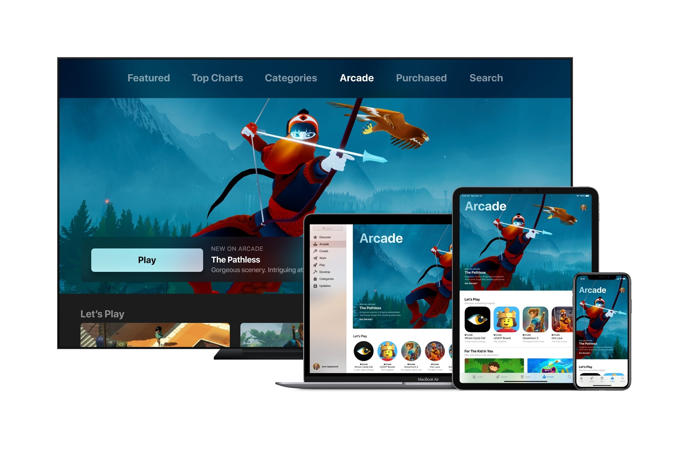 Apple Arcade is scheduled to launch in the Fall of 2019 and will offer over 100 different titles for gamers to enjoy. © Apple