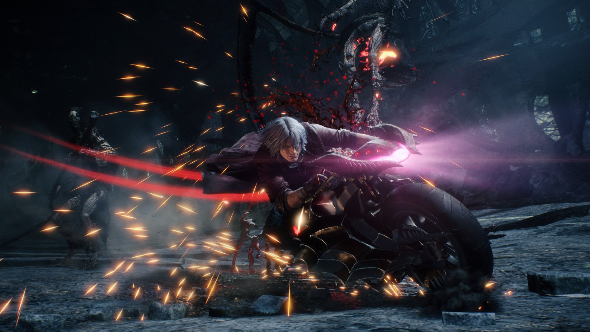 Visually, Devil May Cry 5 is a spectacle to behold and we're all for it.