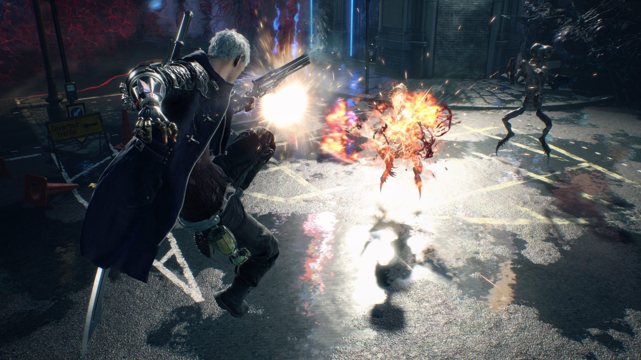 The first and easiest difficulty setting available in Devil May Cry 5 is Human.