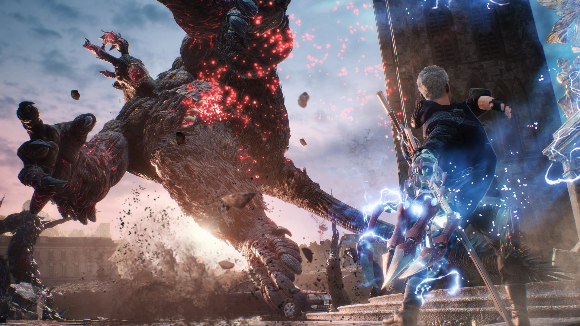 Each playable character in Devil May Cry 5 has a combat style all their own, which makes for a diverse combat experience.
