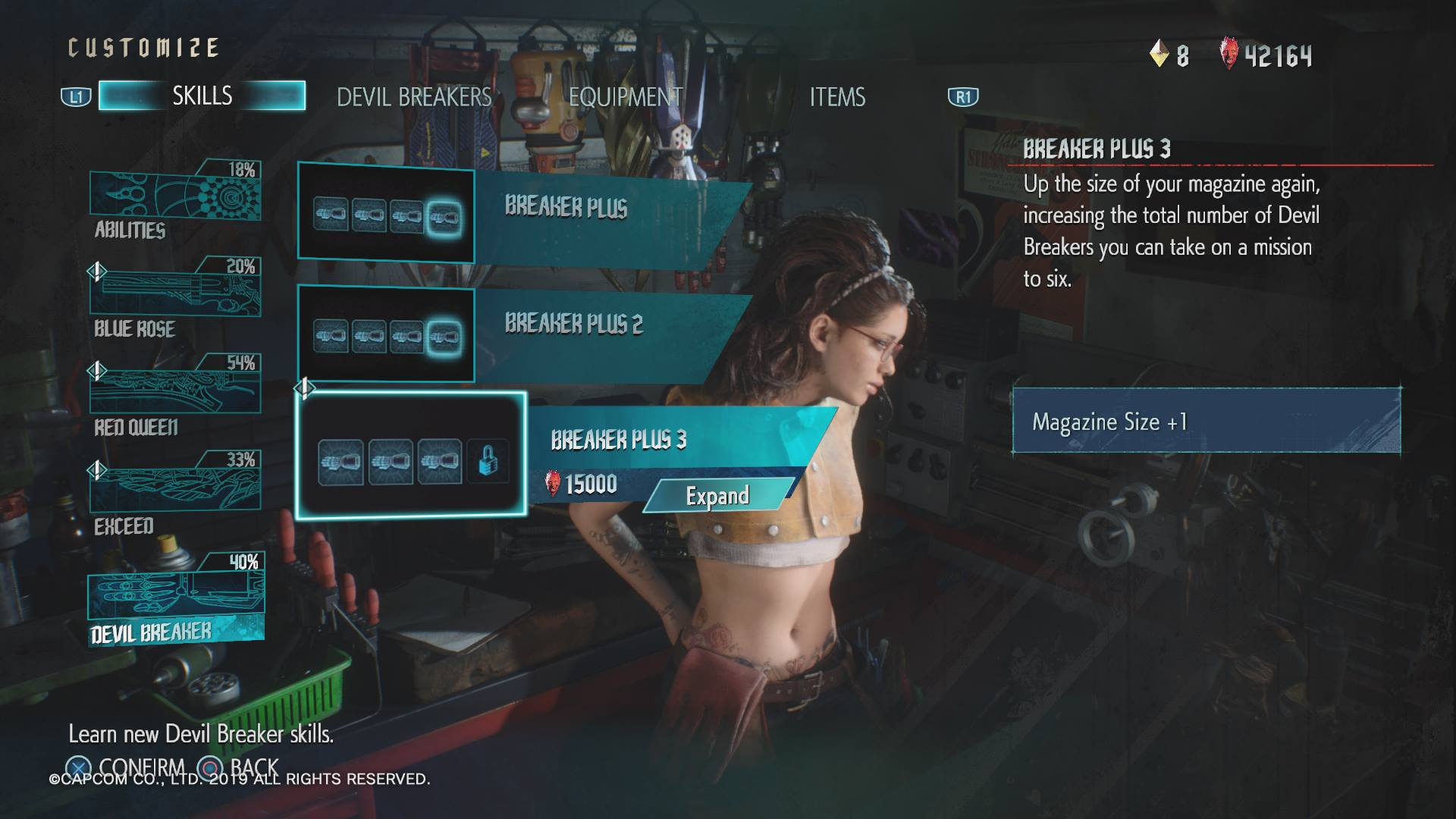 How to swap Devil Breakers in Devil May Cry 5