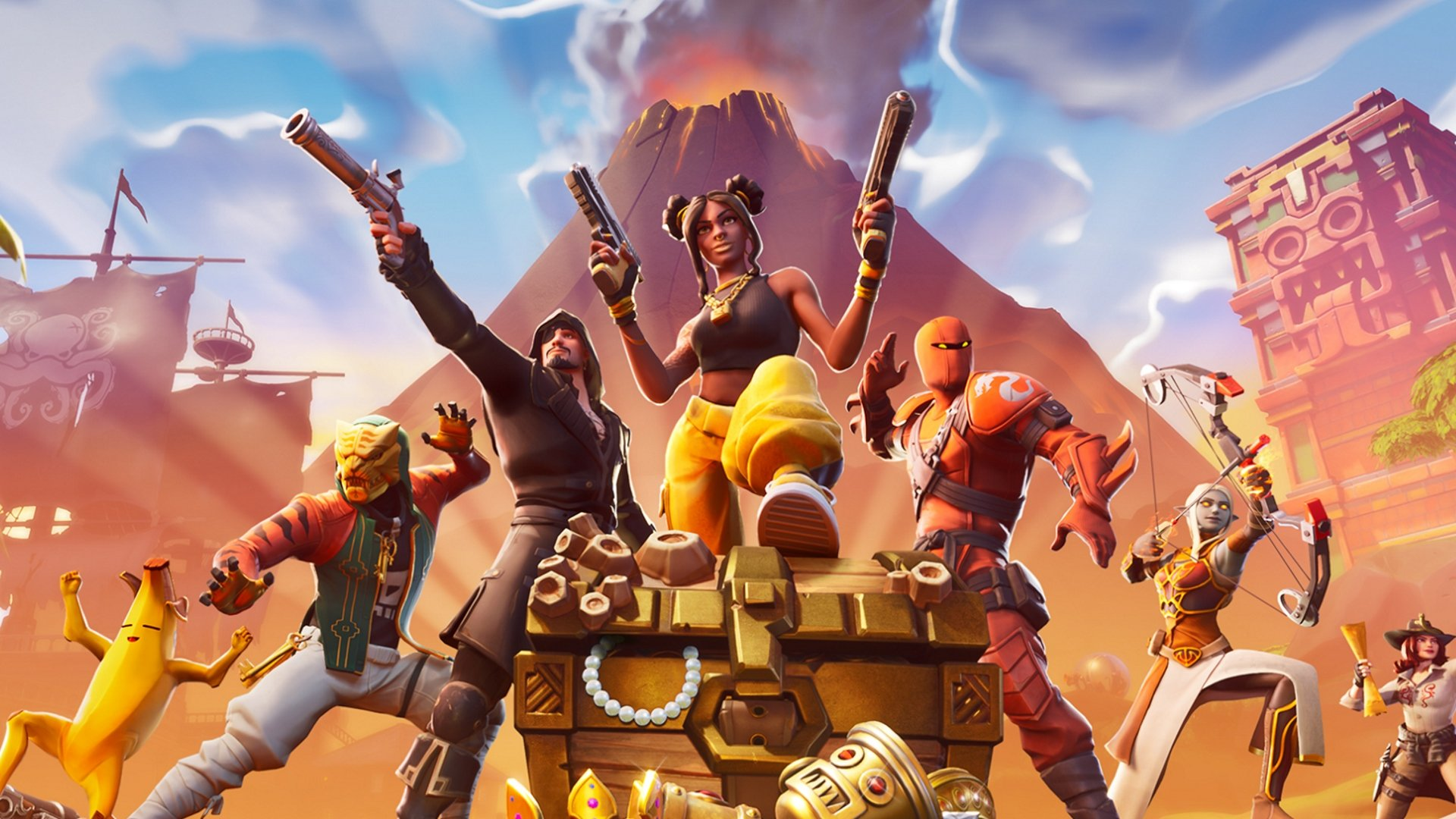 Fortnite crossplay PS4 Xbox One combined matchmaking