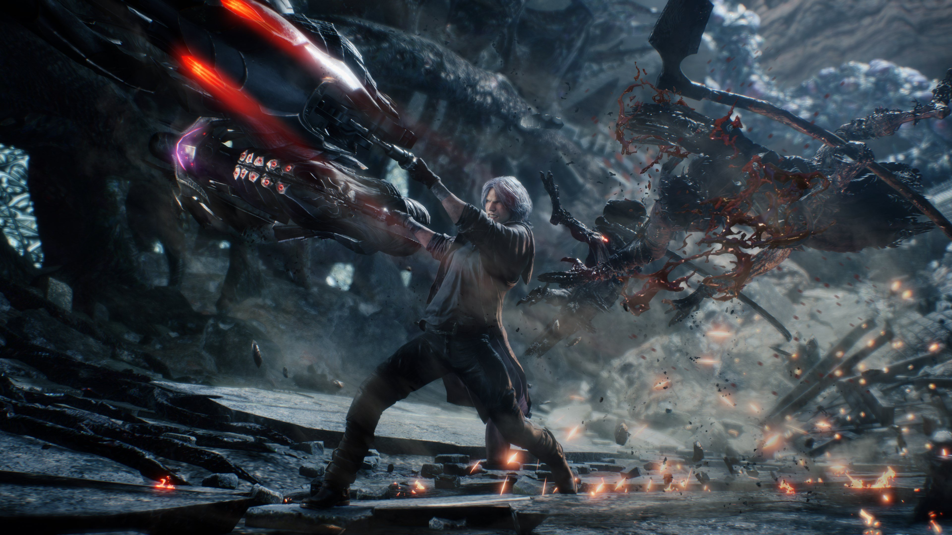 While it'll take you around 15 hours to beat Devil May Cry 5 the first time, playing the campaign again on the Dante Must Die difficulty setting can add another 15 hours of gameplay to your overall completion time.