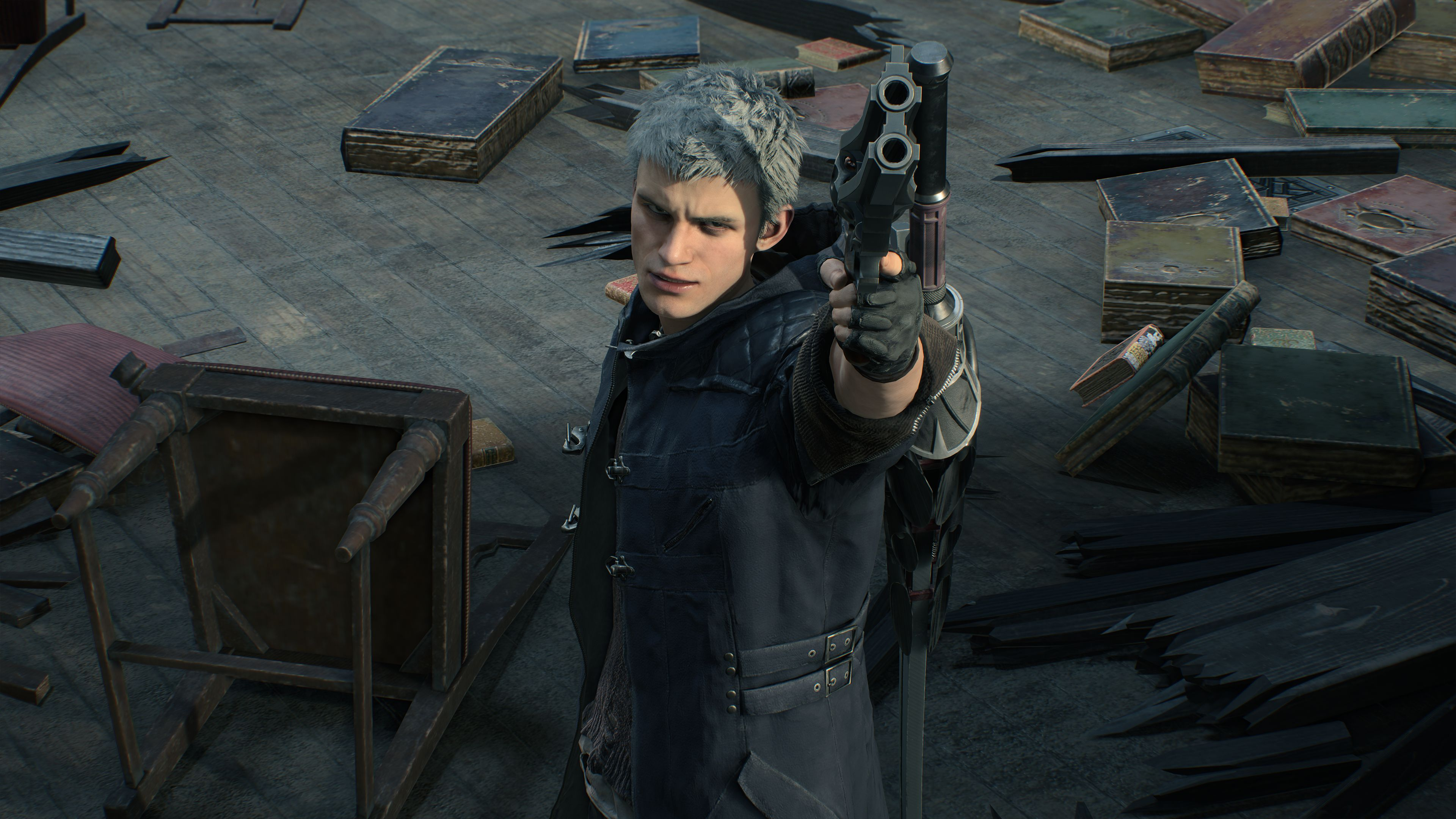 It'll take you anywhere from 10 to 15 hours to complete the main story campaign in Devil May Cry 5. © Capcom