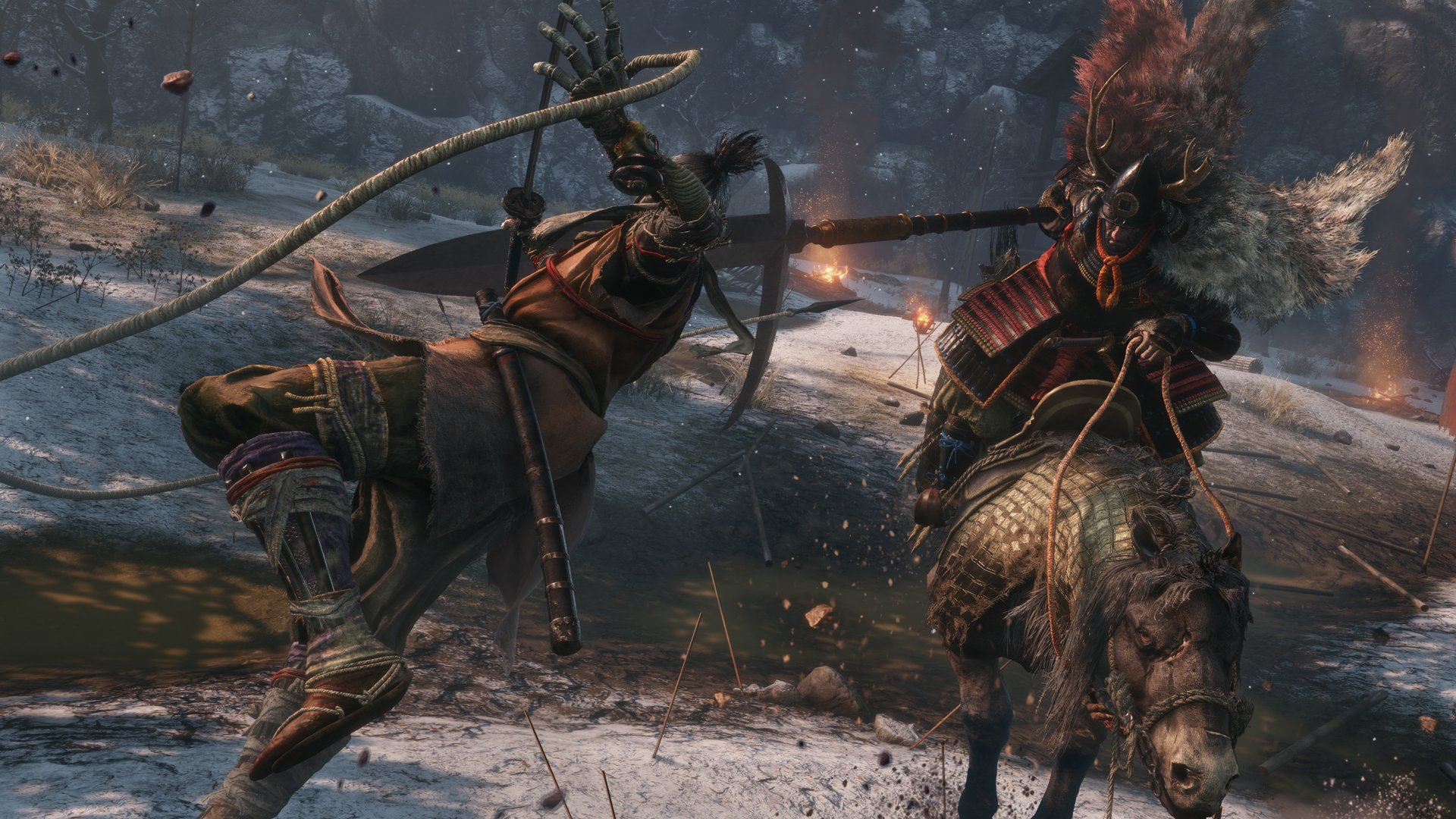 After taking damage, you can heal yourself with your Healing Gourd or through consumable items like Medicinal Pellets in Sekiro: Shadows Die Twice.