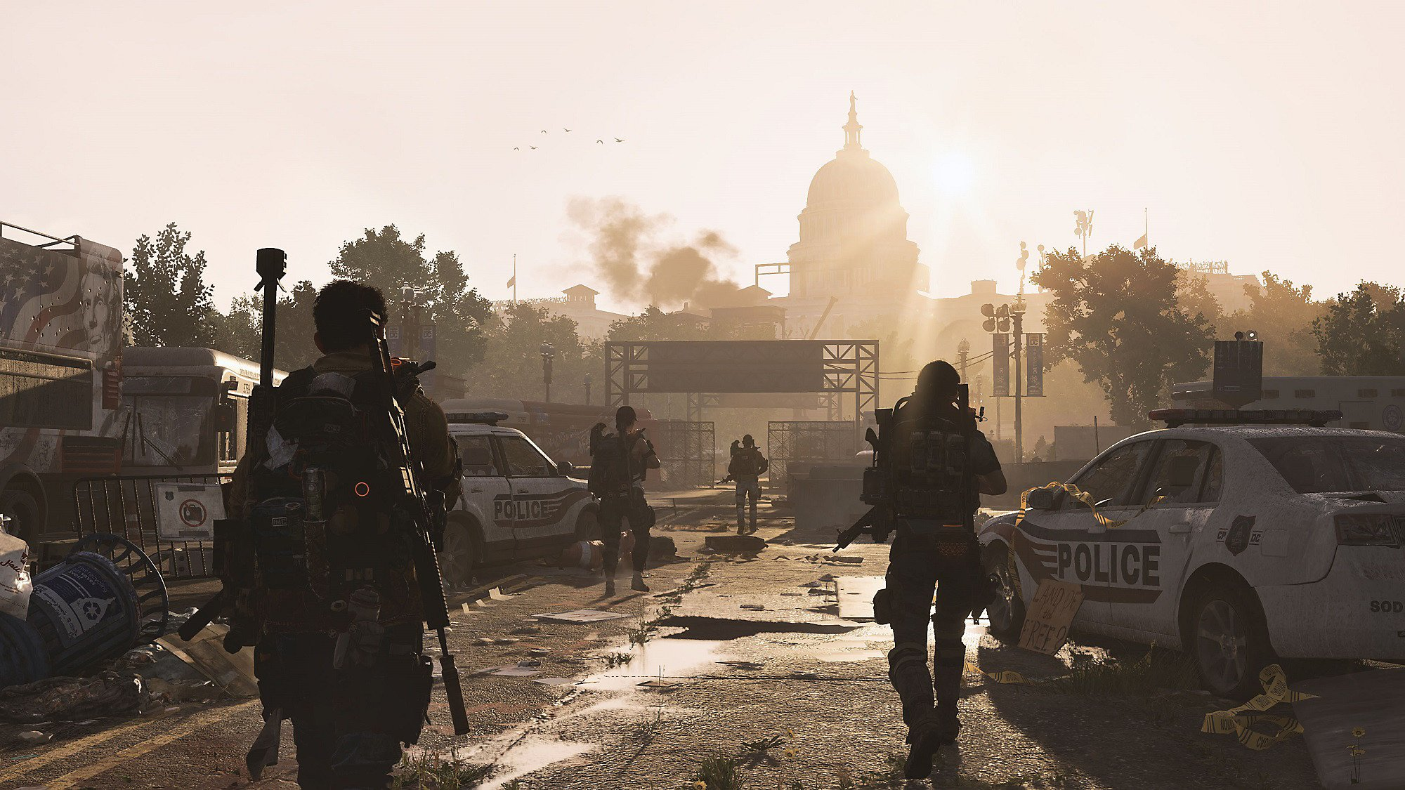 To join and create Clans in Tom Clancy's The Division 2, you'll need to recruit Grace Larson at the Theater Settlement.