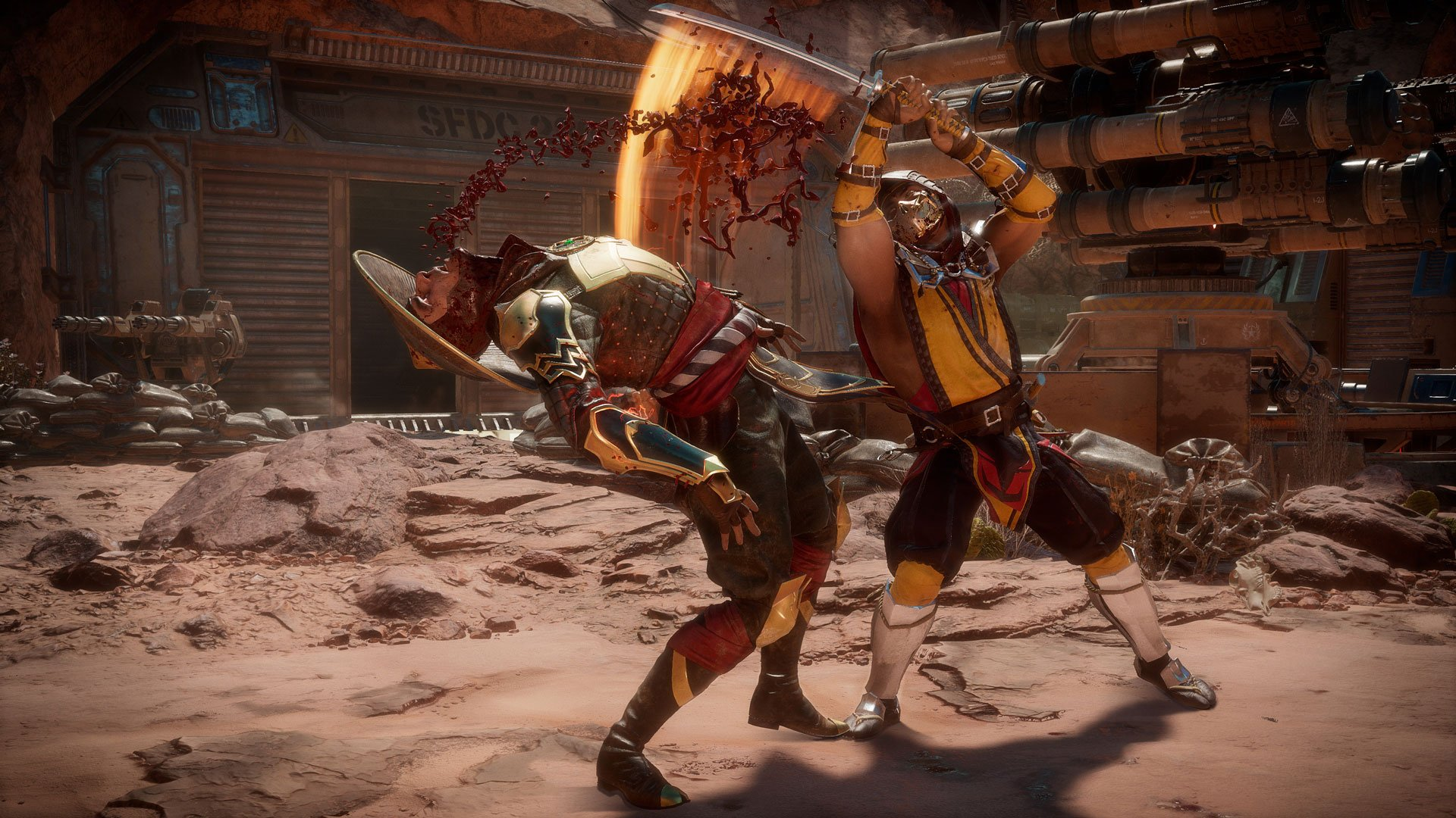 To access the closed beta for Mortal Kombat 11, you'll need to pre-order a copy of the game for either Xbox One or PlayStation 4.