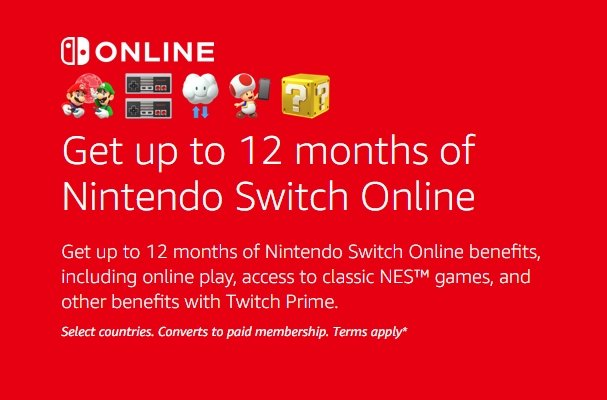 How to Get Nintendo Switch Online for Free with Twitch Prime