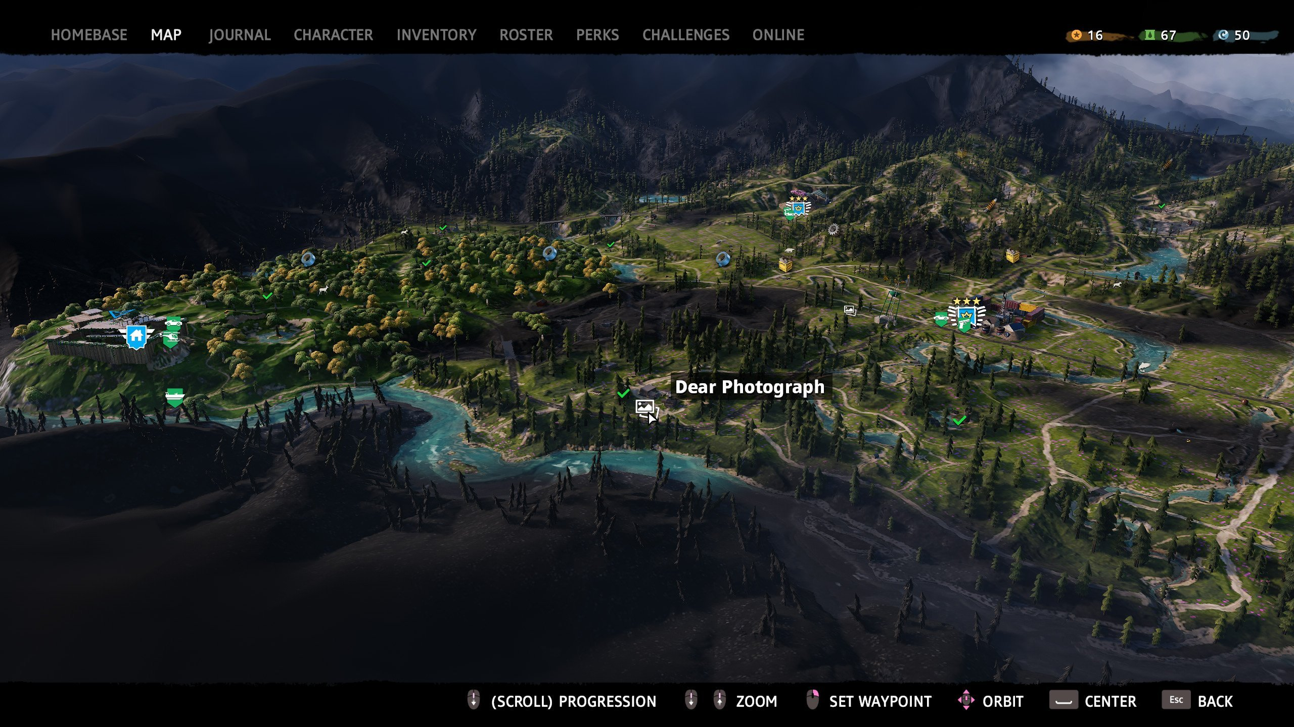 All photograph locations in Far Cry New Dawn