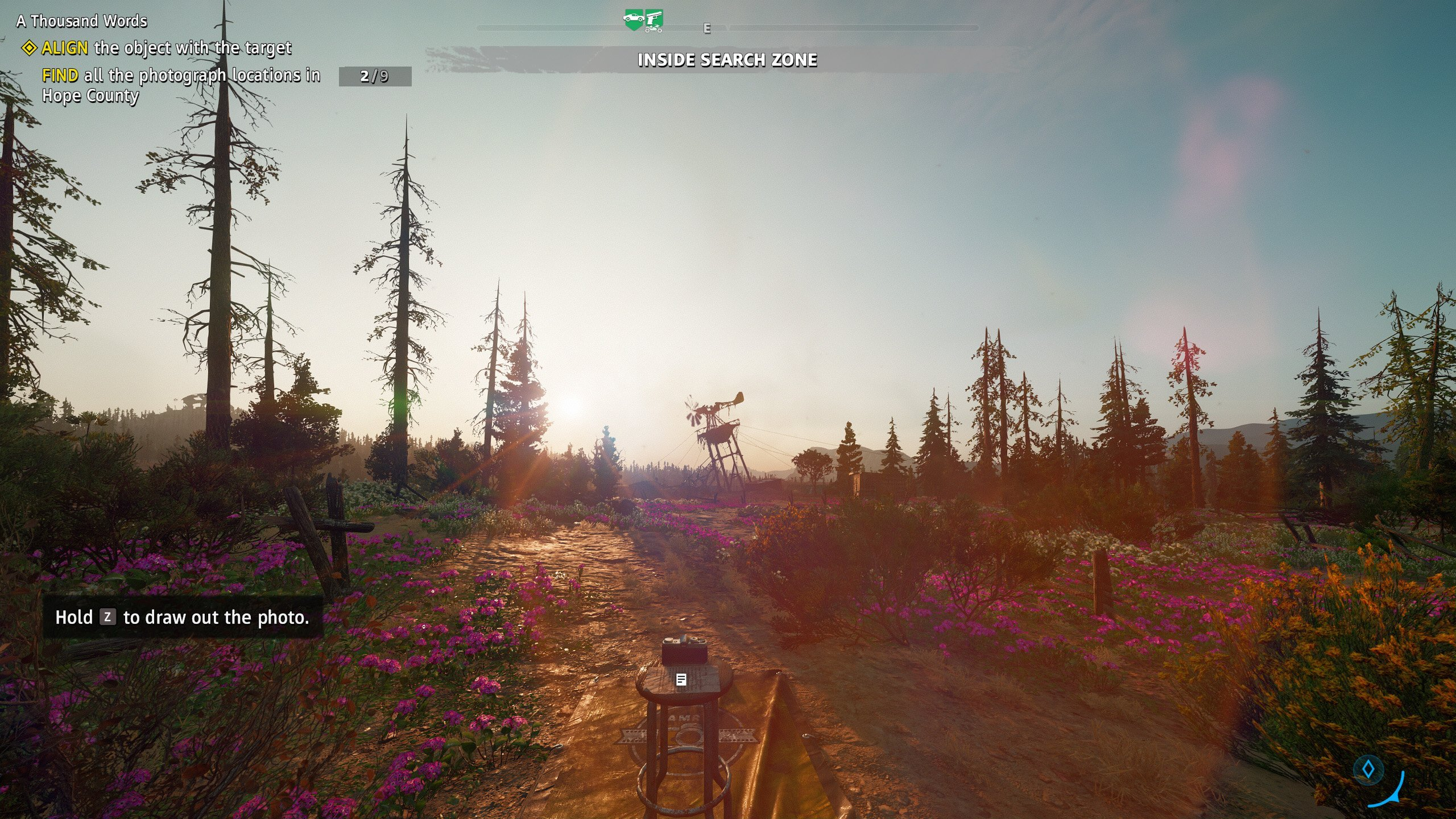A Thousand Words photograph locations in Far Cry New Dawn