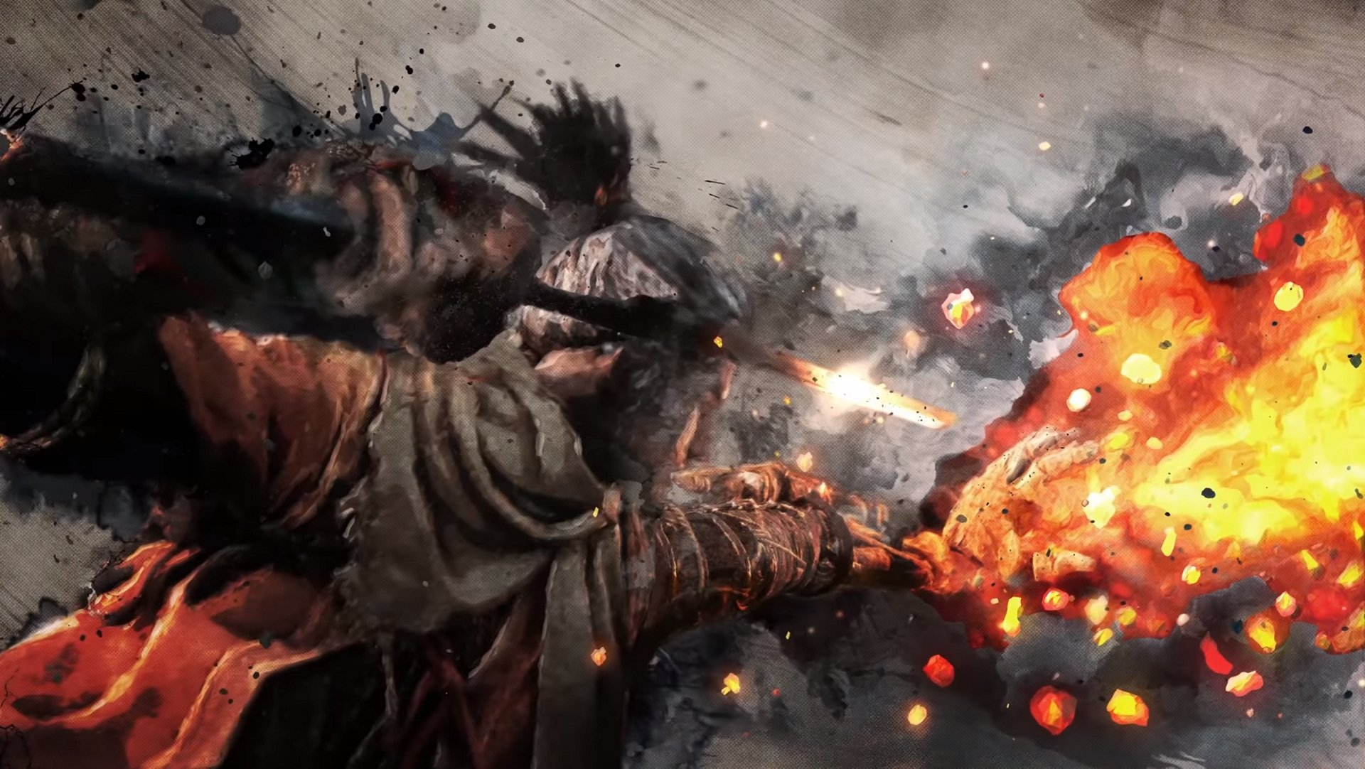The Flame Vent is a powerful prosthetic arm attachment in Sekiro: Shadows Die Twice. © FromSoftware