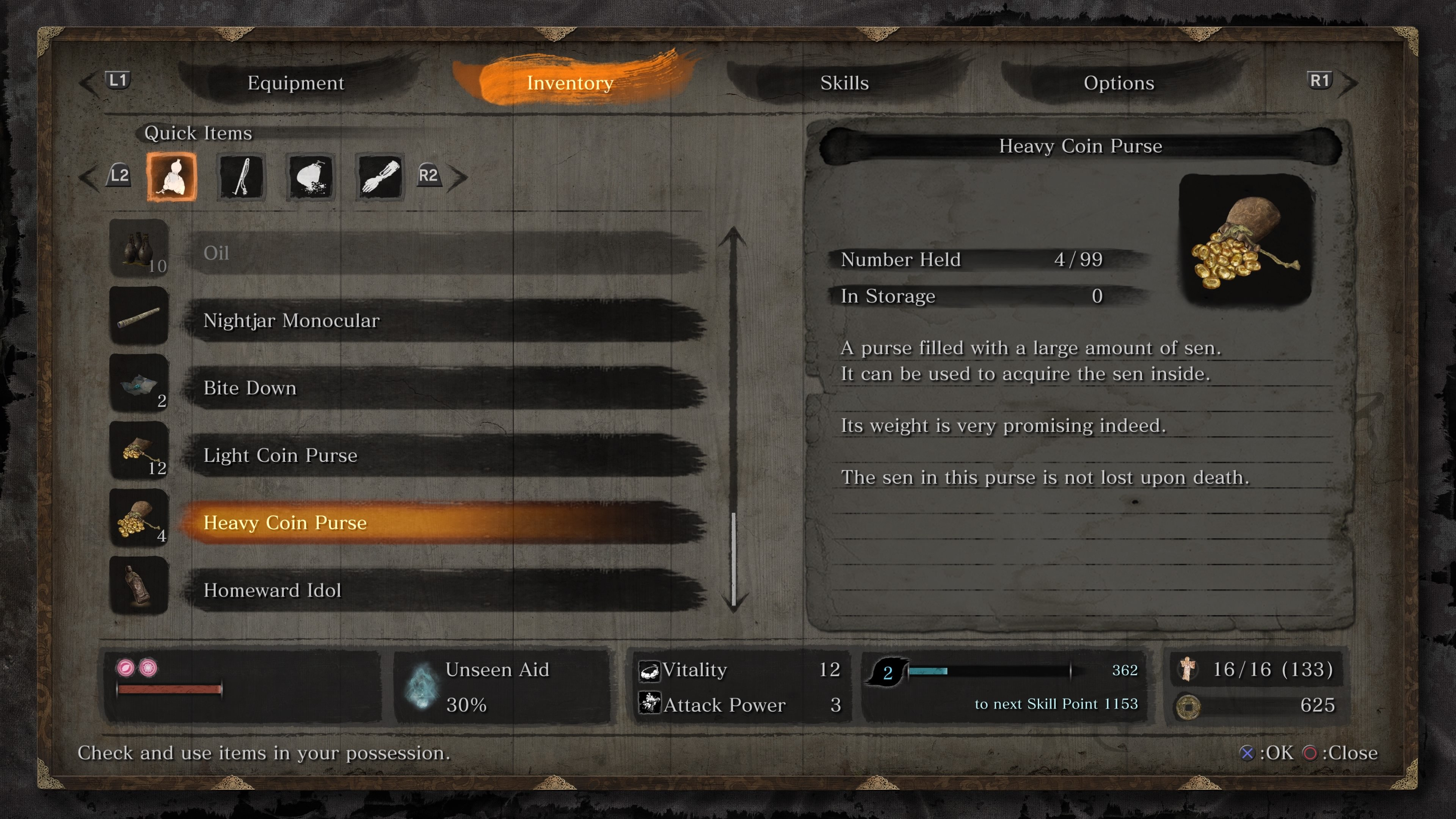 Sen farming guide for Sekiro Shadows Die Twice