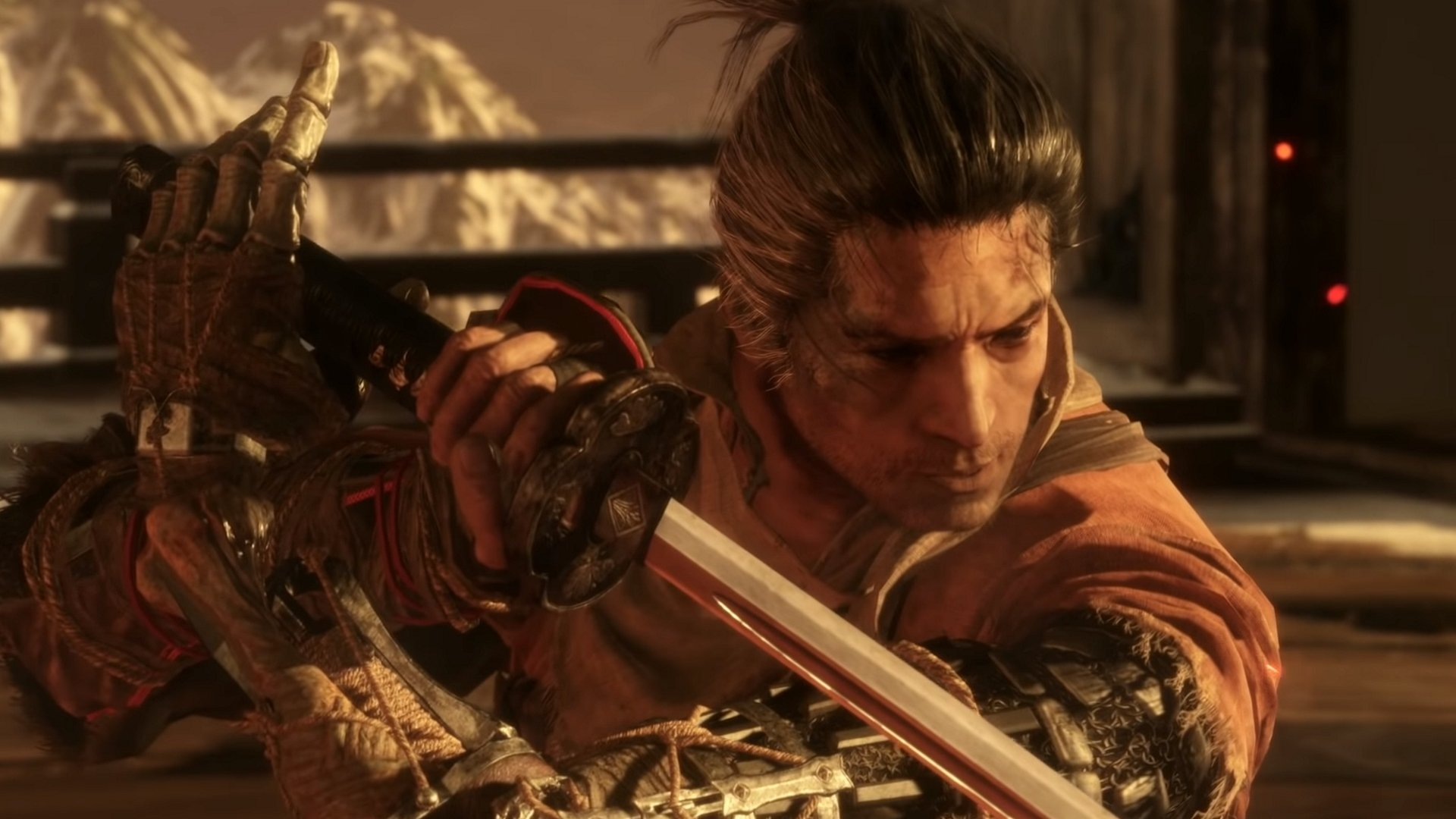 How to pick up sen in Sekiro: Shadows Die Twice - Image of the Wolf