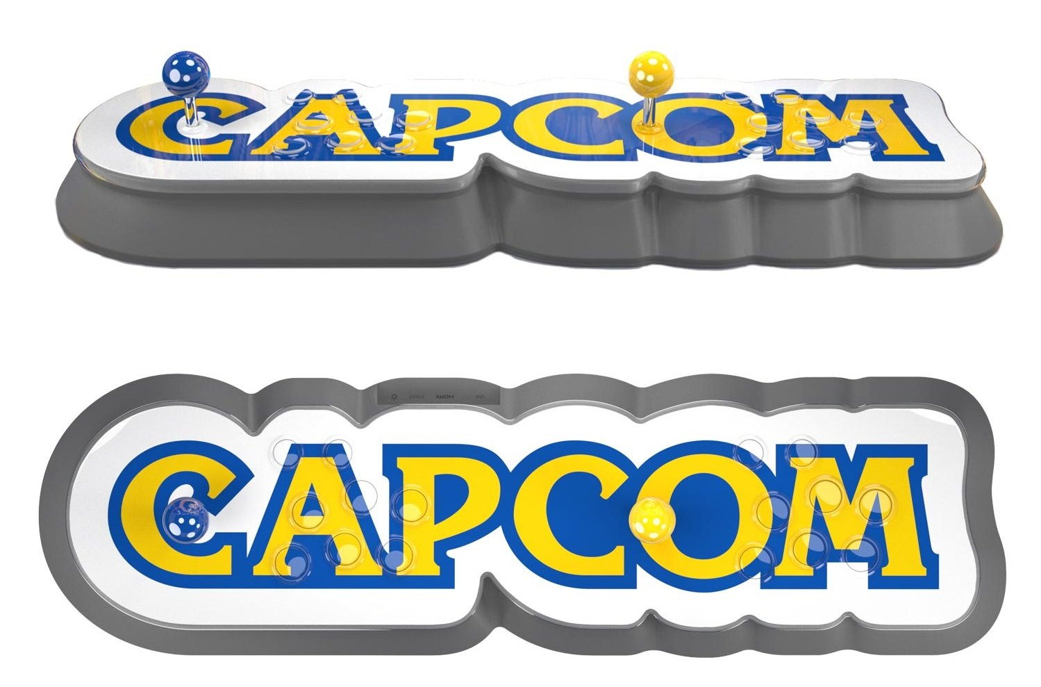 The Capcom Home Arcade comes pre-loaded with 16 classic Capcom titles.