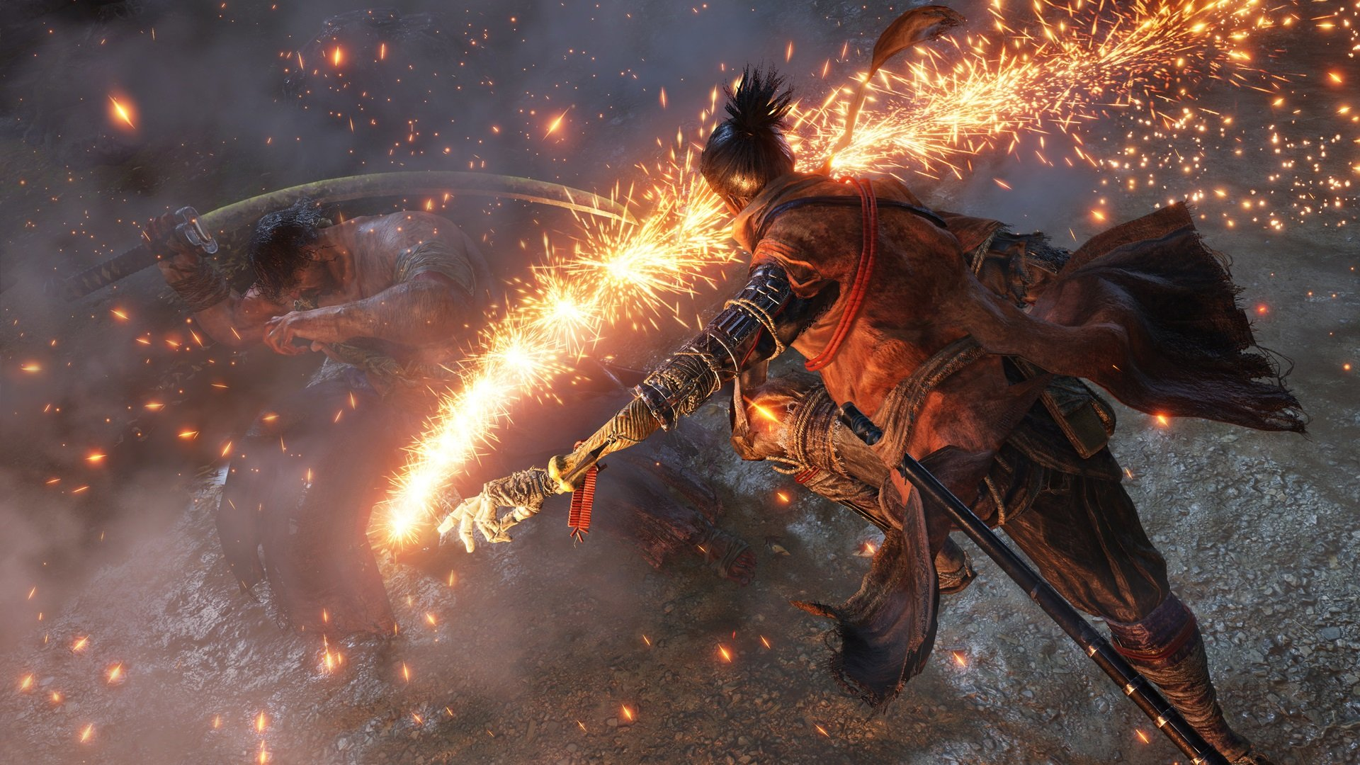 To defeat the Centipede Monks in Sekiro: Shadows Die Twice, you'll need to first acquire the Mortal Blade in Senpou Temple.