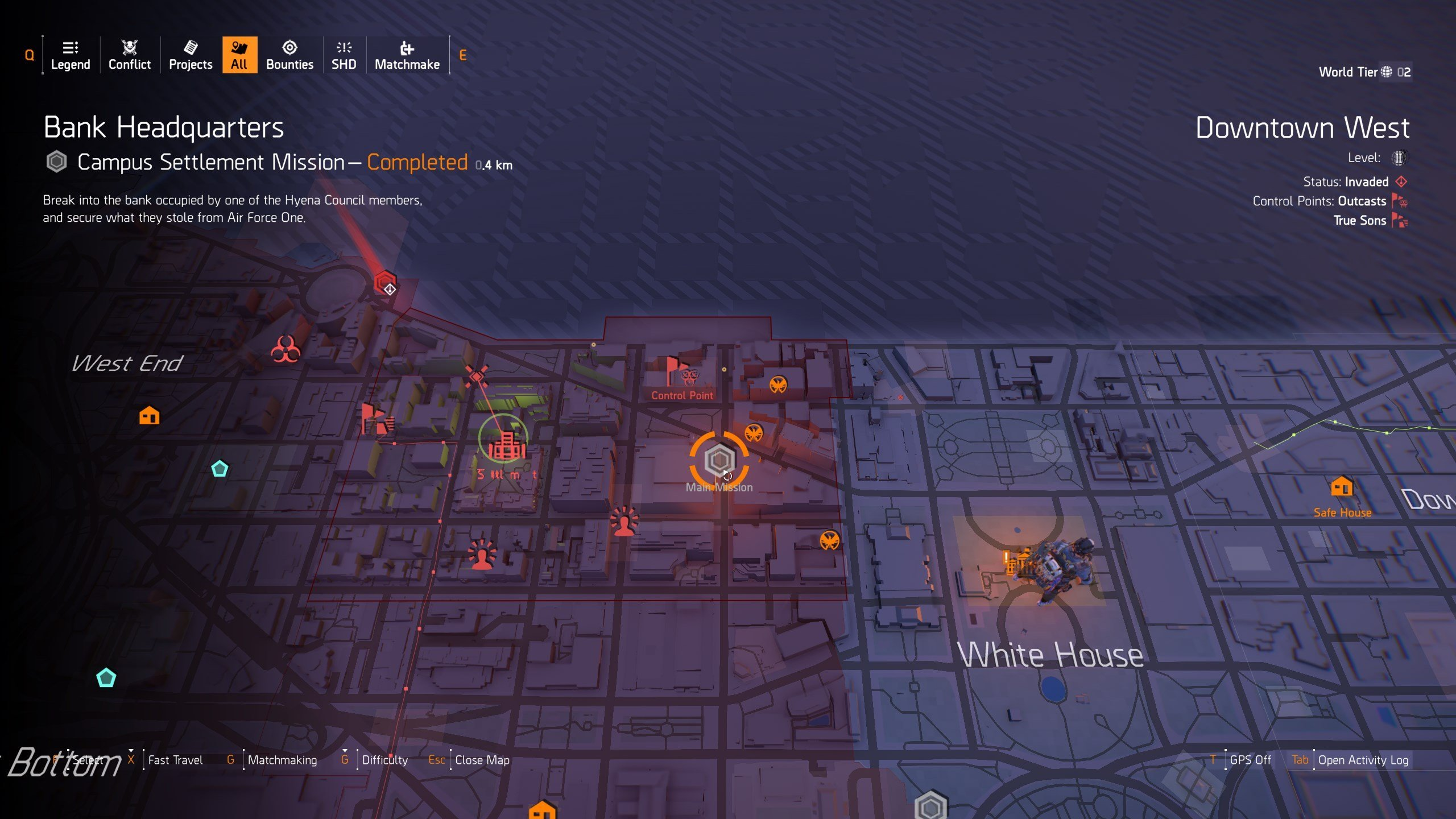 Chatterbox SMG Perks - The Blueprint location