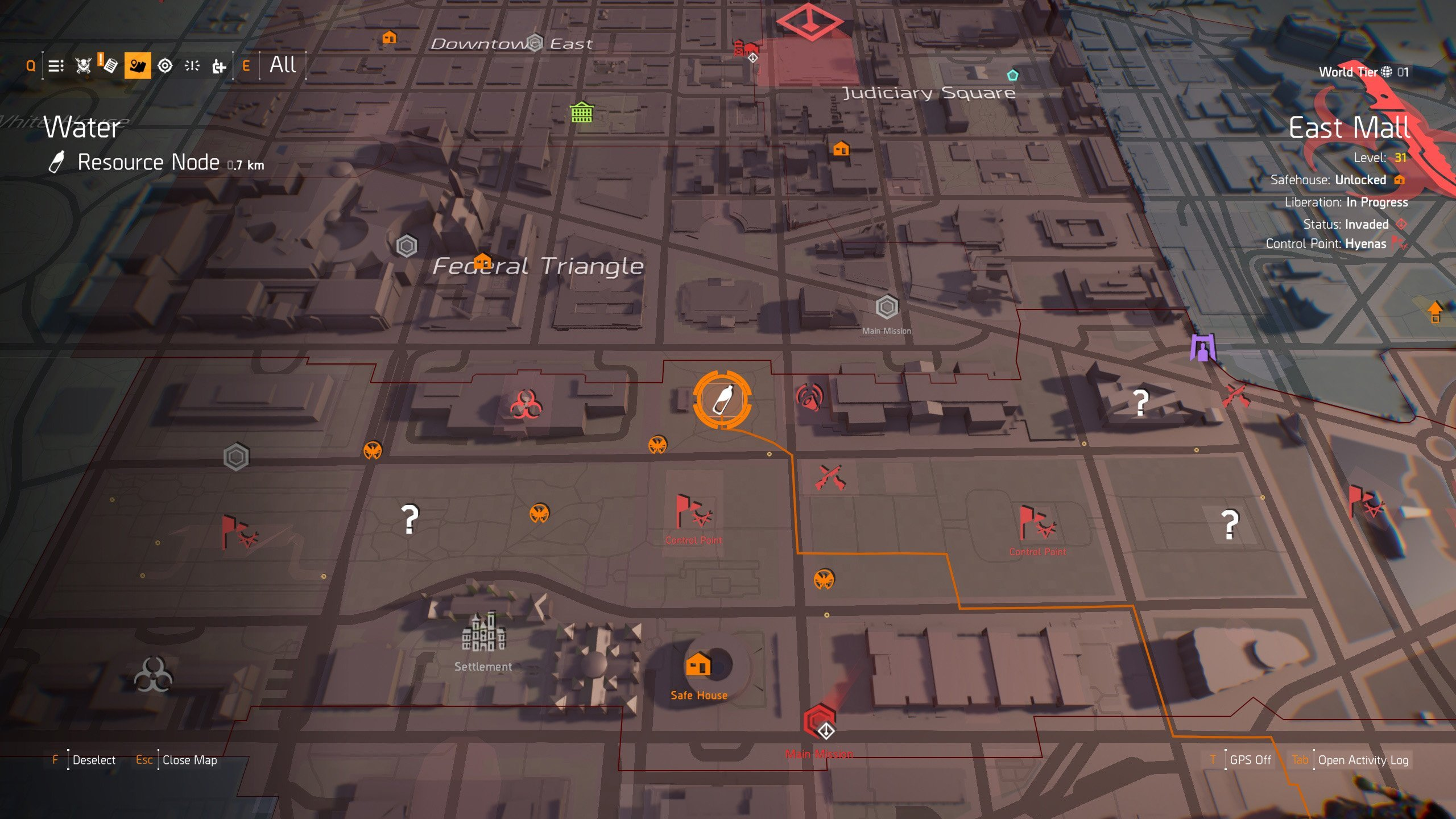 How to get the Cross, Diamond, Death and Phantom Masks - Visit this location in The Division 2