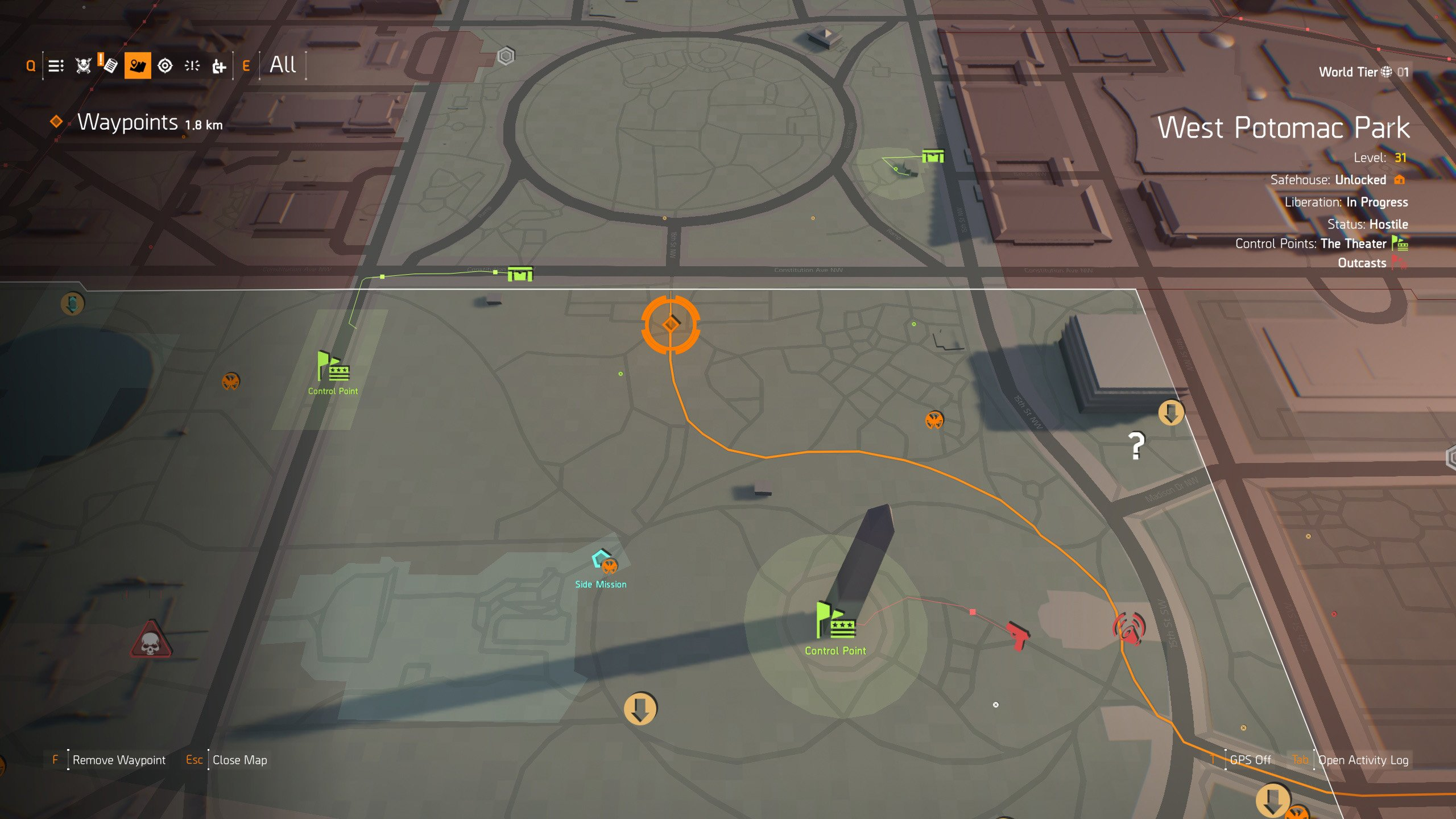 Where to find the Ghost Mask in The Division 2