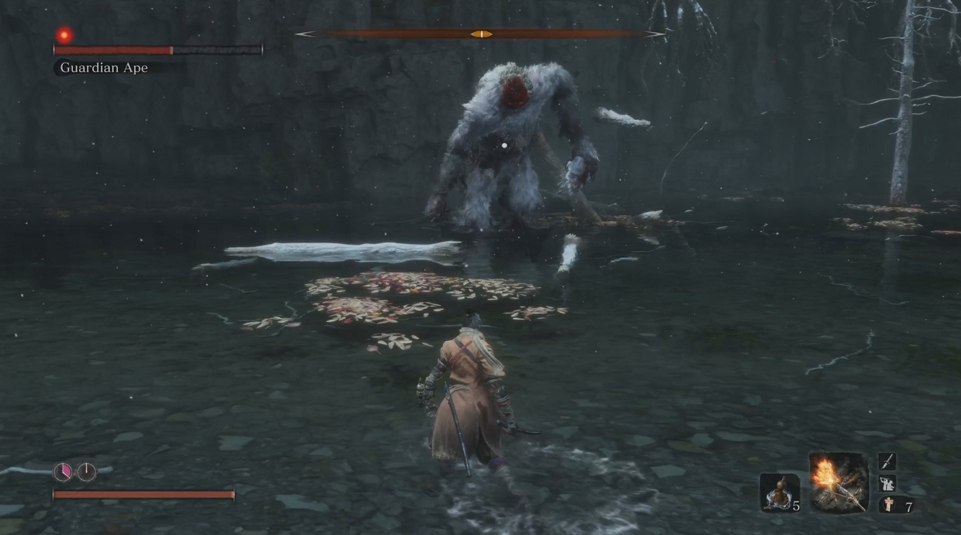 How to beat the Guardian Ape boss fight in Sekiro: Shadows Die Twice