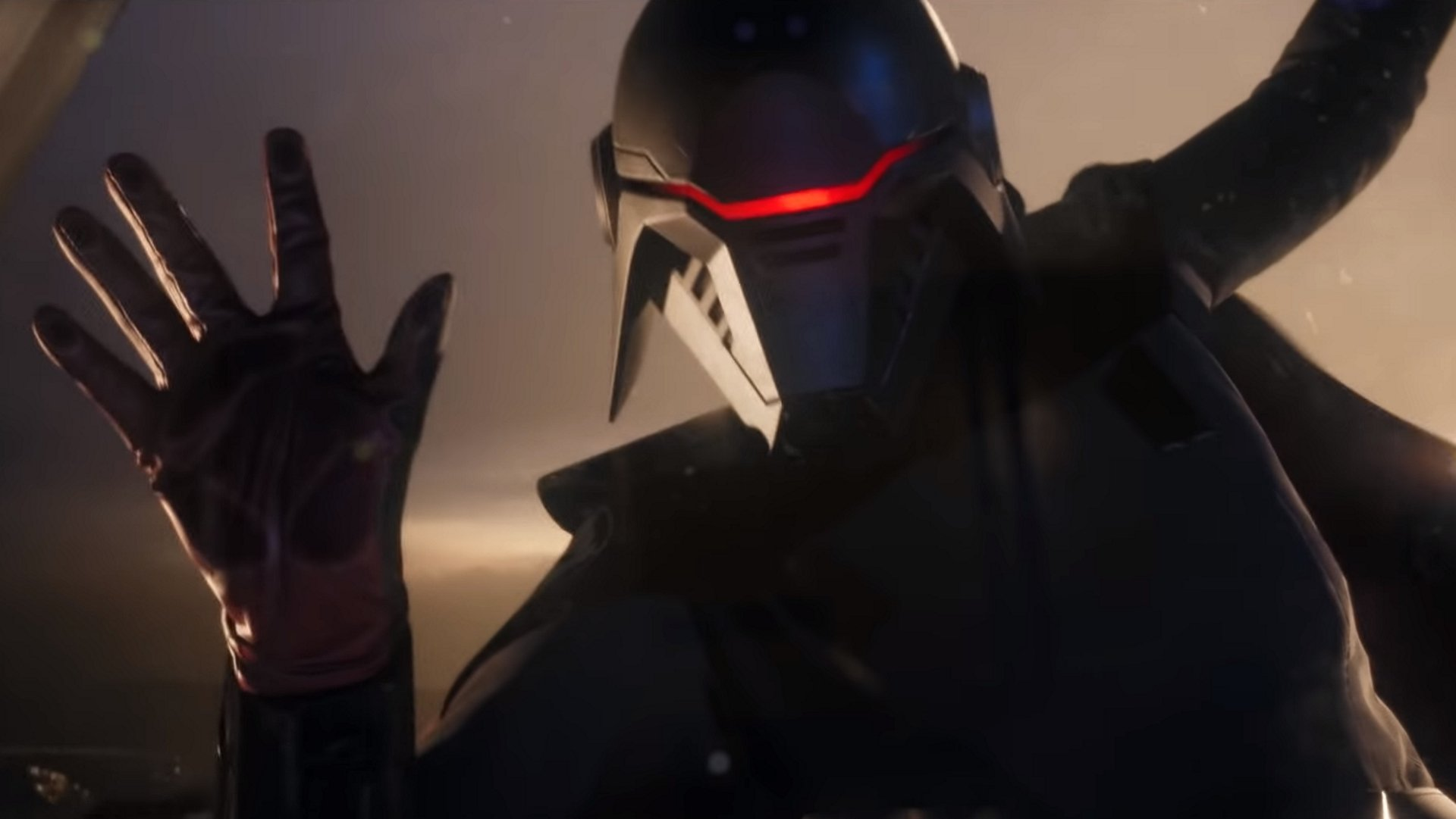 This inquisitor looks like a recurring villain. © Respawn Entertainment