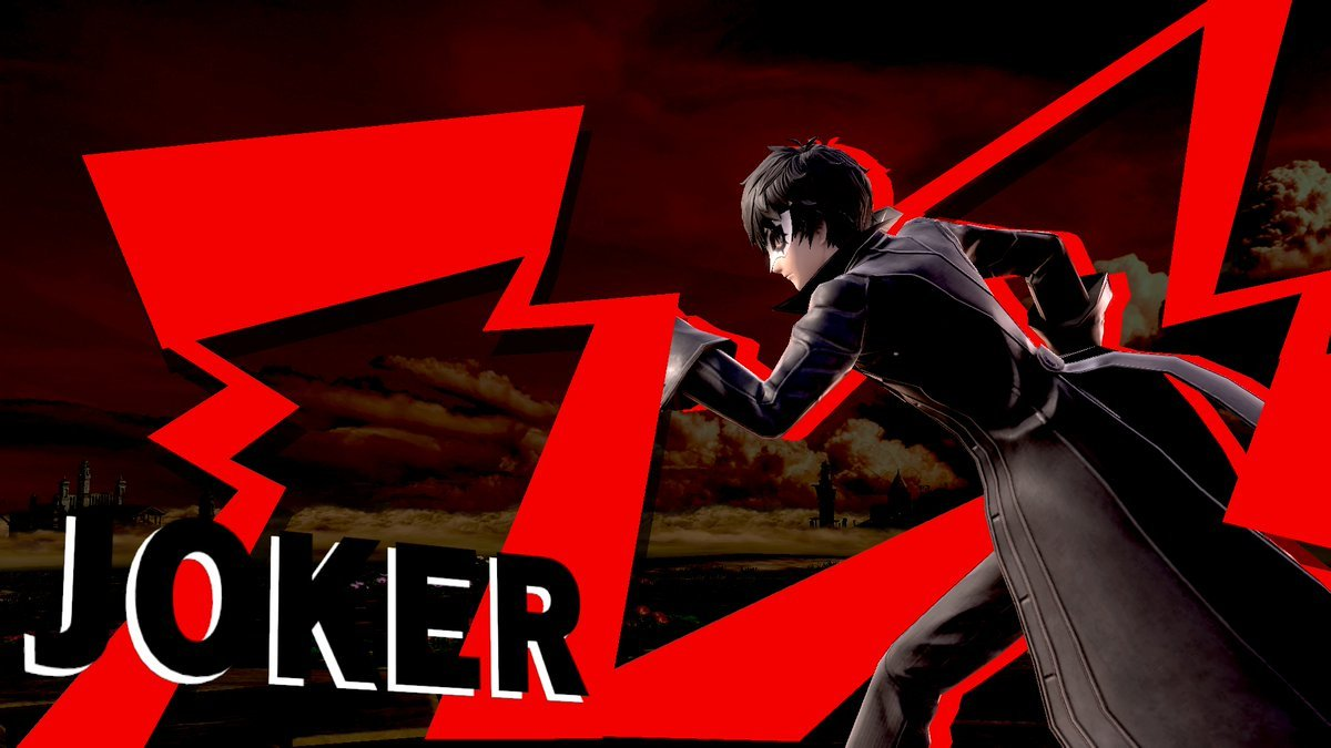 Confirmed Super Smash Bros Ultimate DLC roster - Joker