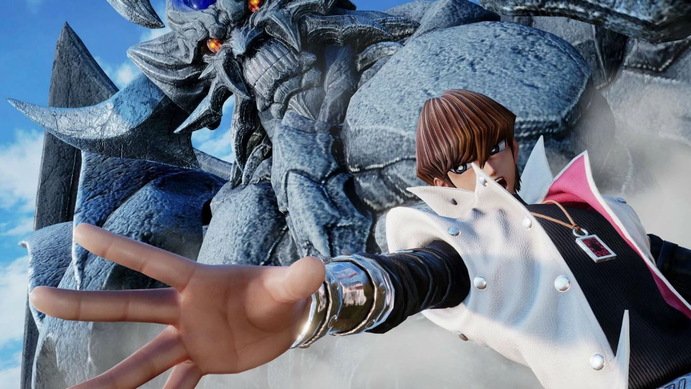 All Might and Seto Kaiba hit Jump Force, with other DLC characters coming later in the year.