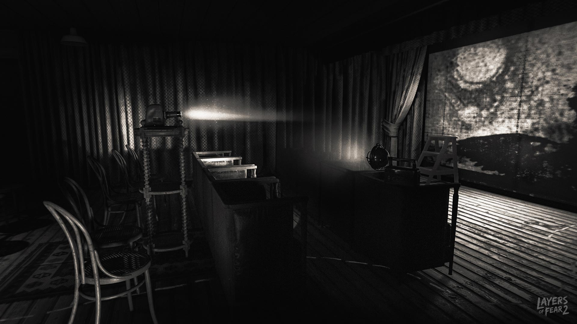 Layers of Fear 2 follows an actor who takes a mysterious role aboard a luxury ship. © Bloober Team