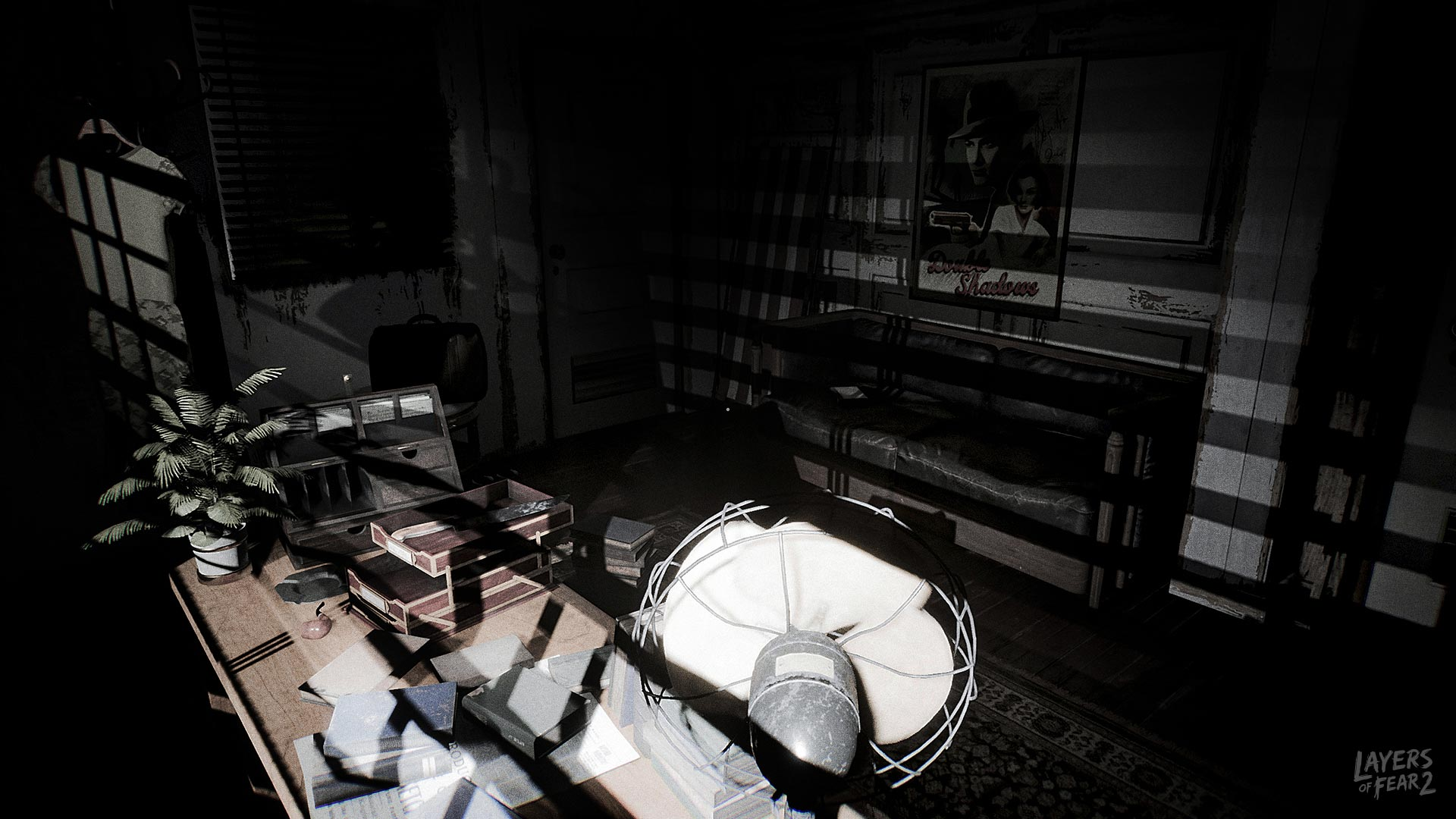 The story unravels through the use of classic projectors and phonographs, along with items you can pick up and inspect.