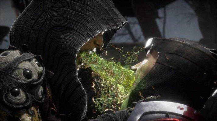 DVorah Fatality Mortal Kombat 11