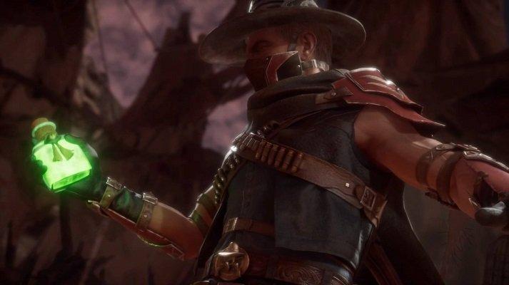 Erron Black Fatality Mortal Kombat 11