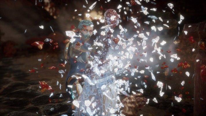 Frost Fatality Mortal Kombat 11
