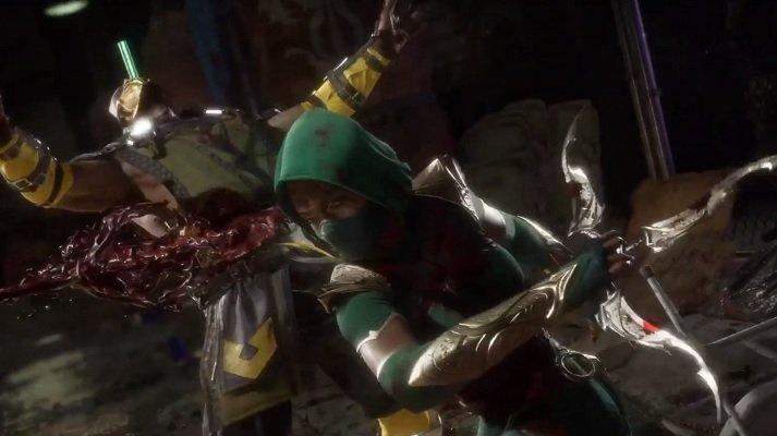 Jade Fatality Mortal Kombat 11