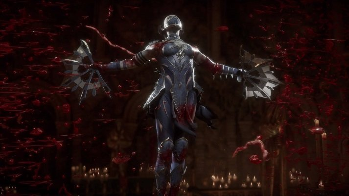 Kitana Fatality Mortal Kombat 11
