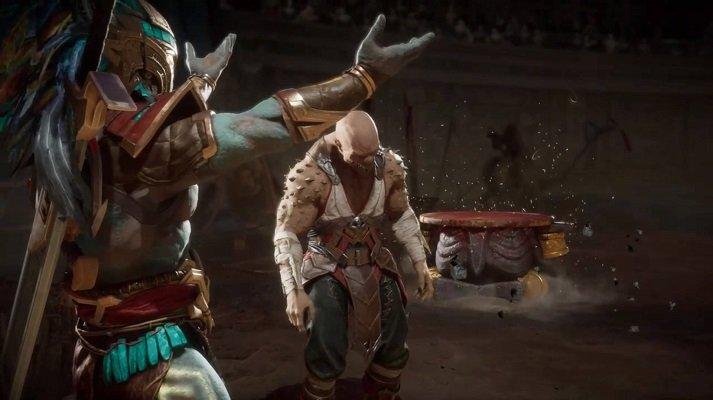 Kotal Kahn Fatality Mortal Kombat 11