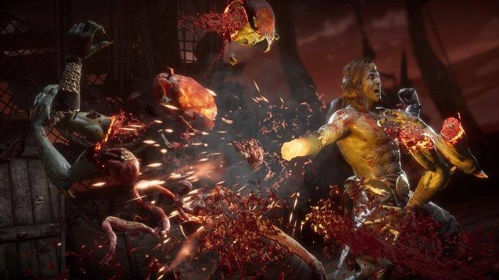 Liu Kang Fatality Mortal Kombat 11