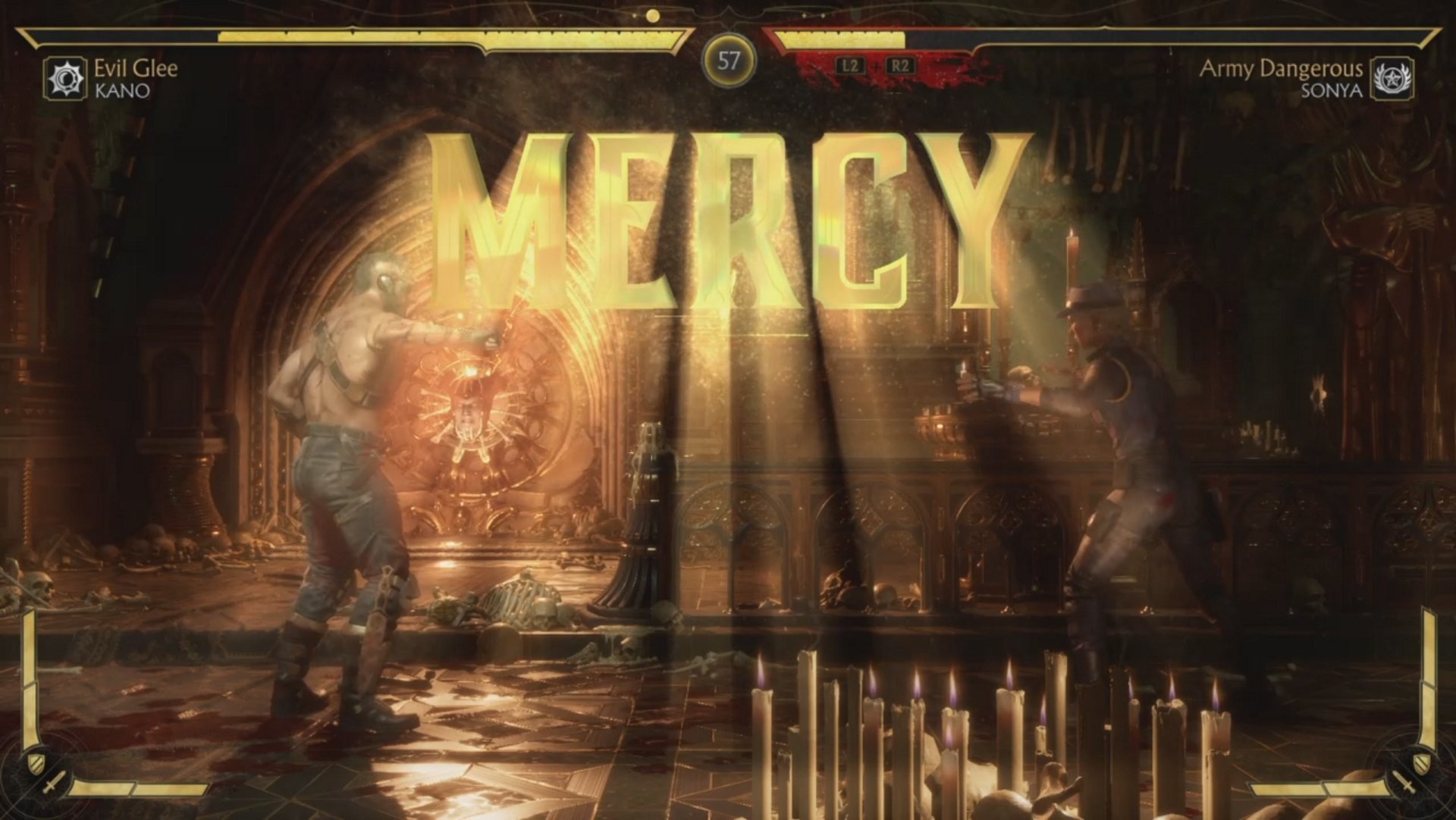 Mercy input in Mortal Kombat 11