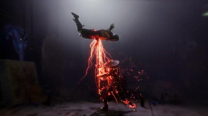 Raiden Fatality Mortal Kombat 11