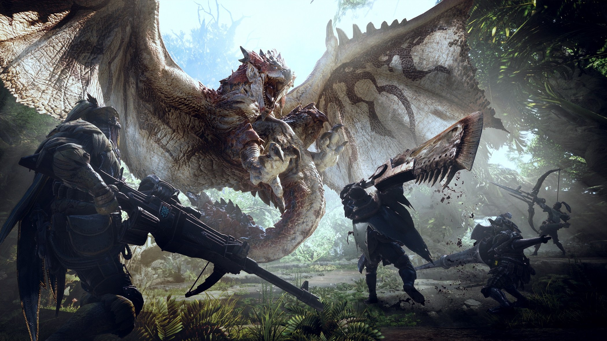 Monster Hunter: World is one of six titles coming to Xbox Game Pass in April.