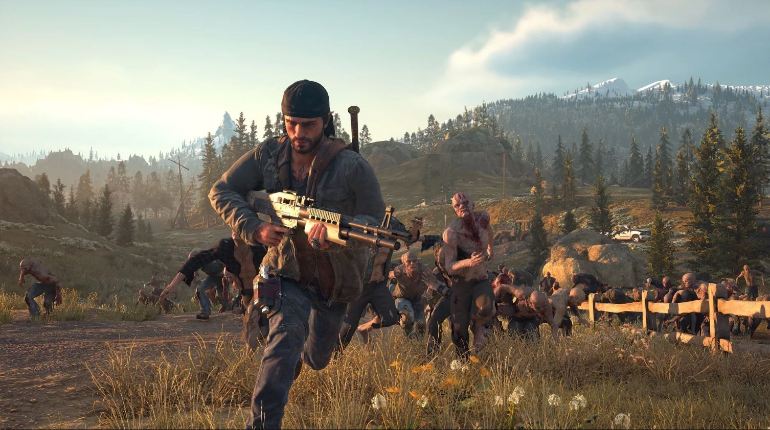 In Days Gone, you won't be able to use the quick save feature if enemies are nearby.