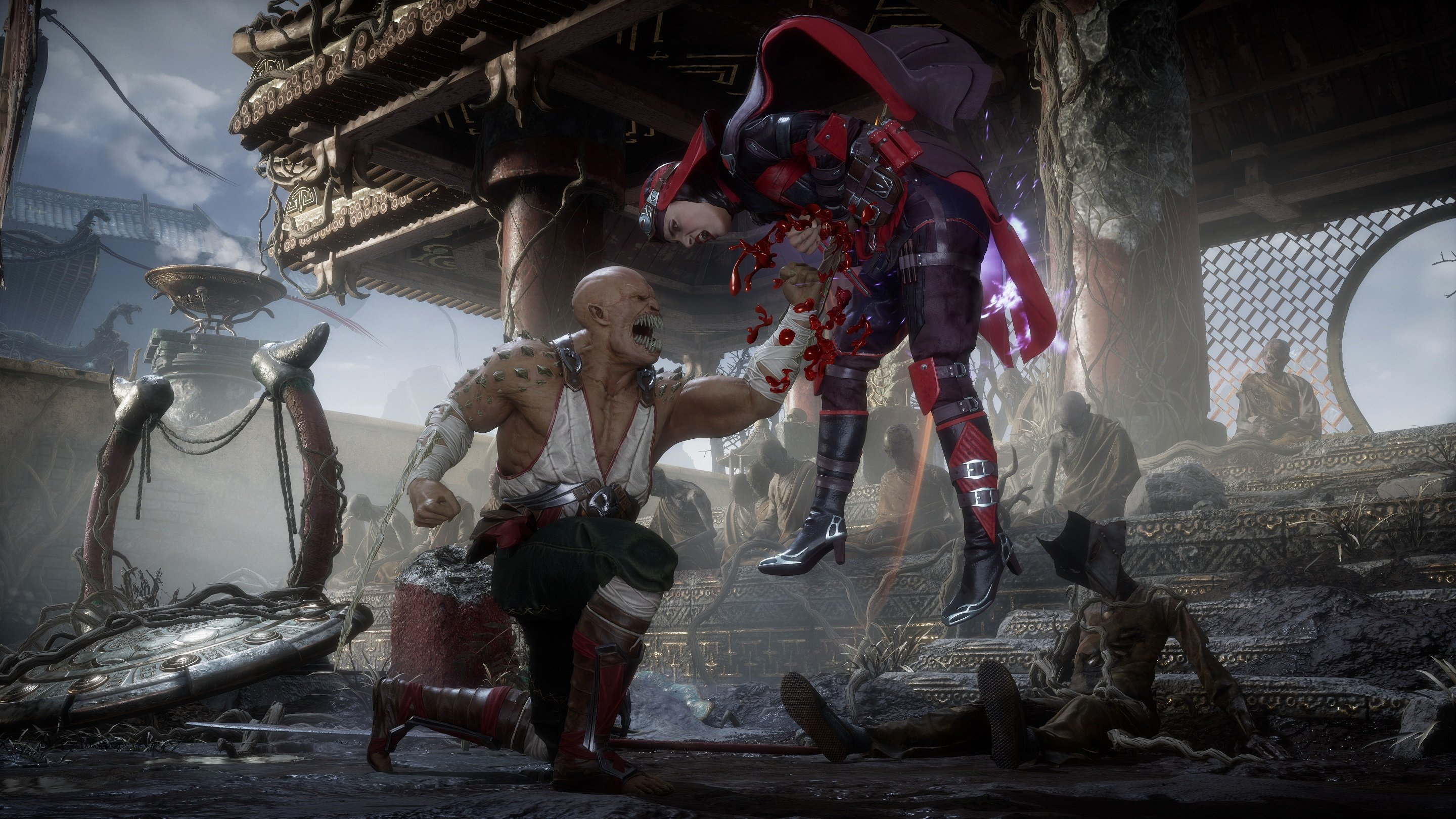 Mortal Kombat 11 tracks your progress through an automatic save system.