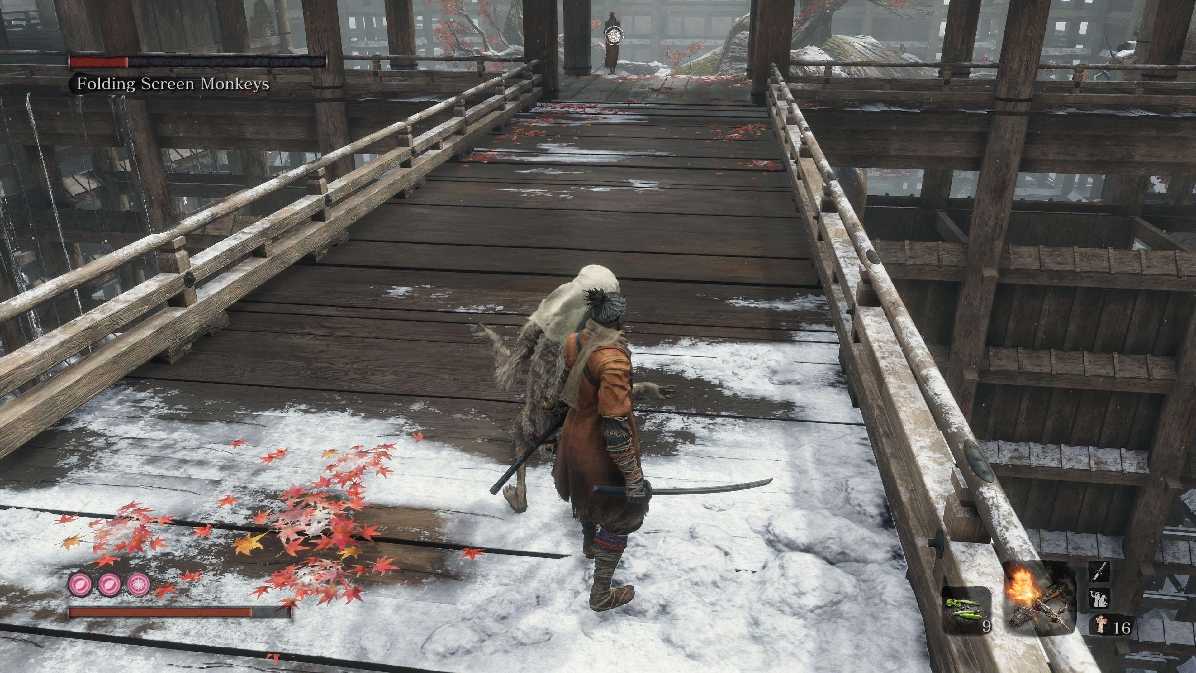 How to beat Folding Screen Monkeys in Sekiro: Shadows Die Twice