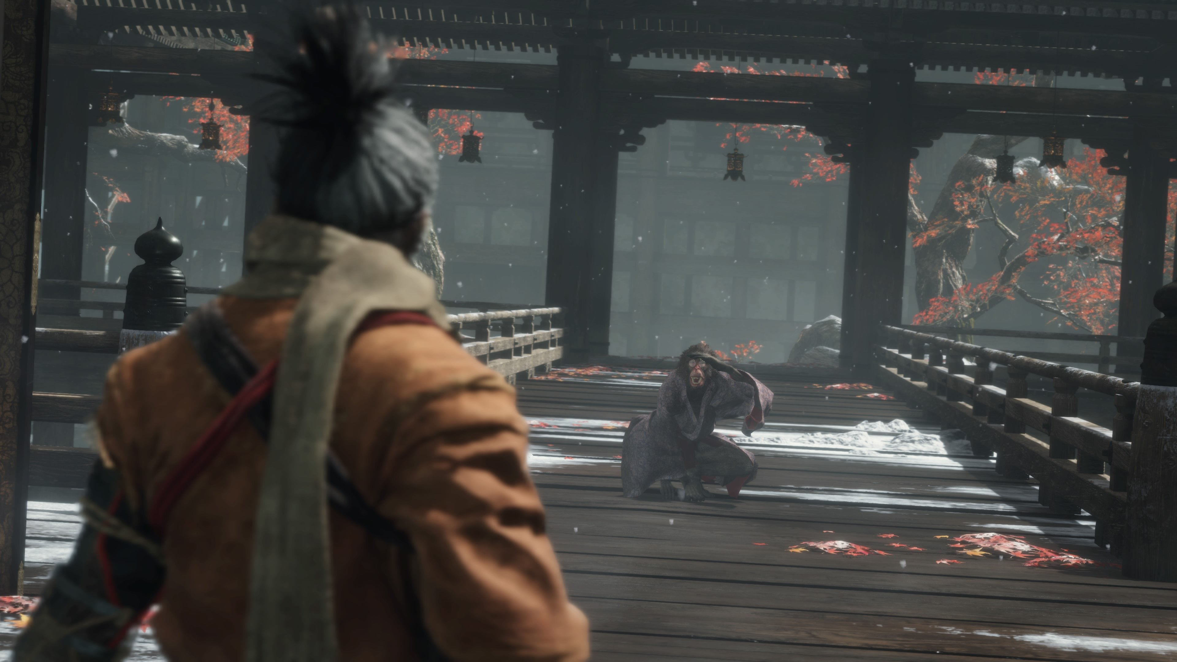 How to bear the Folding Screen Monkeys boss in Sekiro
