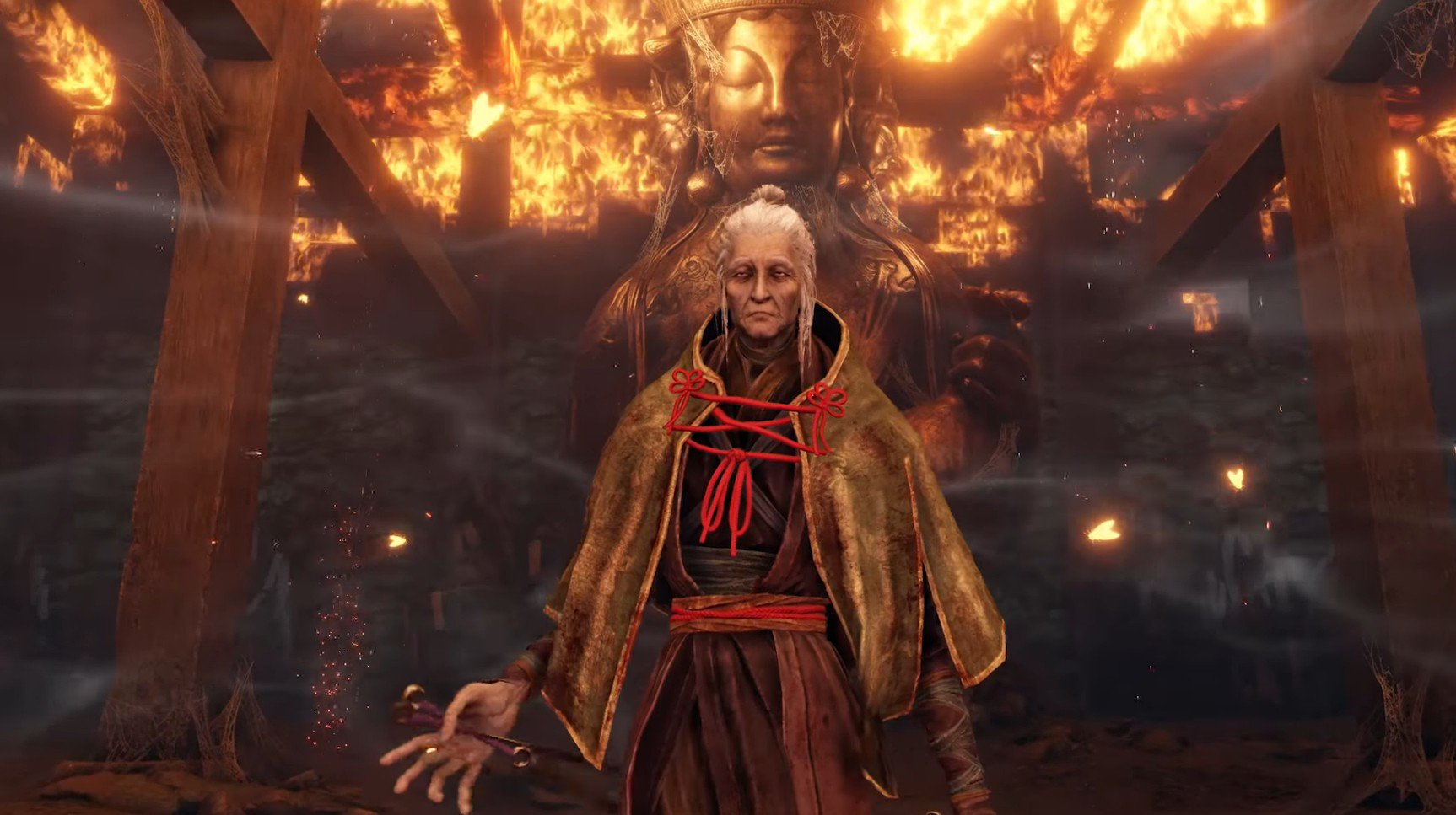 Defeat Lady Butterfly in Sekiro: Shadows Die Twice to earn a Sakura Droplet.