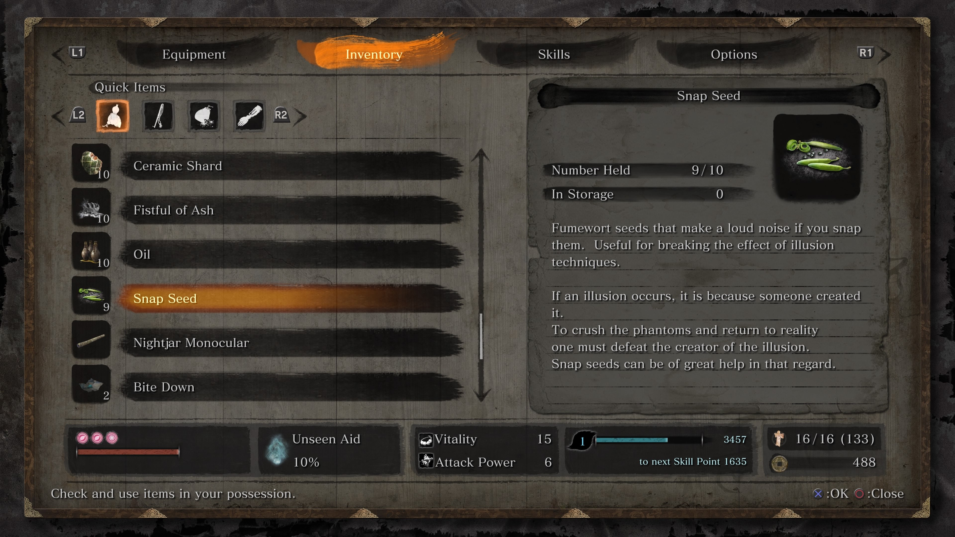 Where to find Snap Seeds in Sekiro: Shadows Die Twice