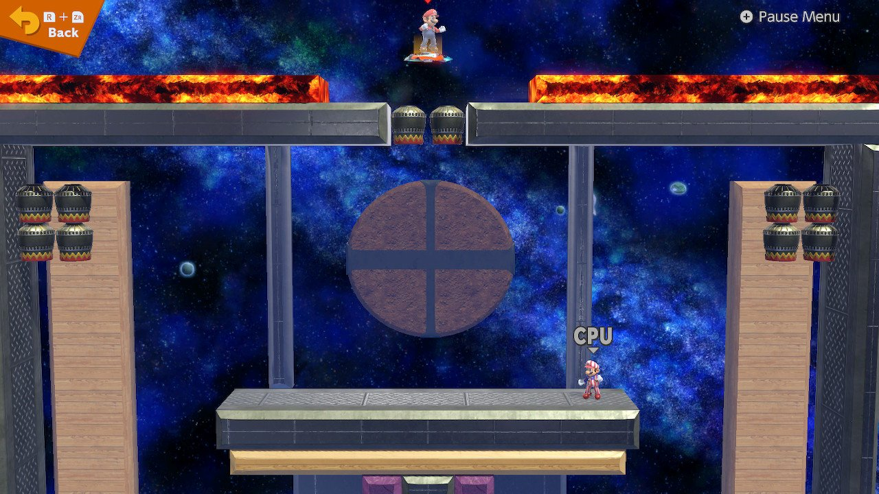 Smashketball stage builder Smash Bros Ultimate