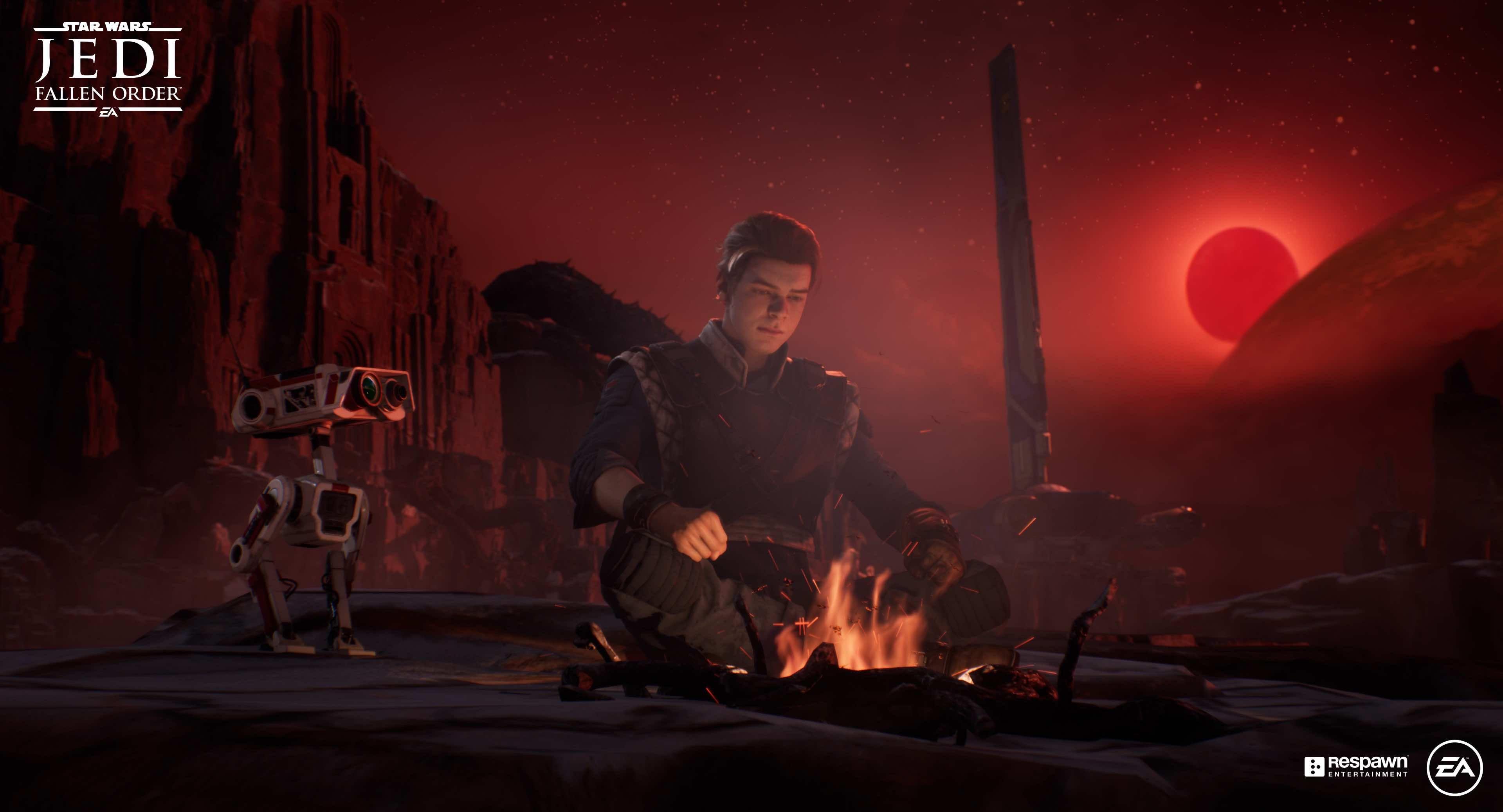 Cal's droid friend BD-1 will be brought to life in Star Wars: Jedi Fallen Order by sound designer Ben Burtt.