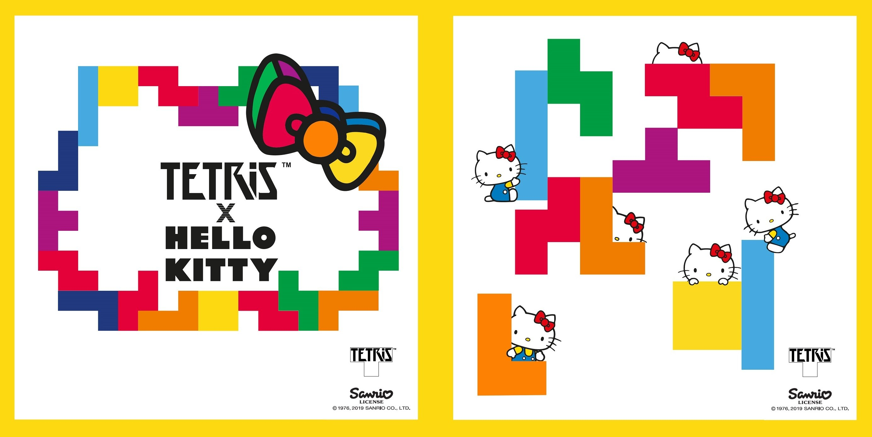 A new game that combines Tetris and Sanrio characters is set to release on June 3.