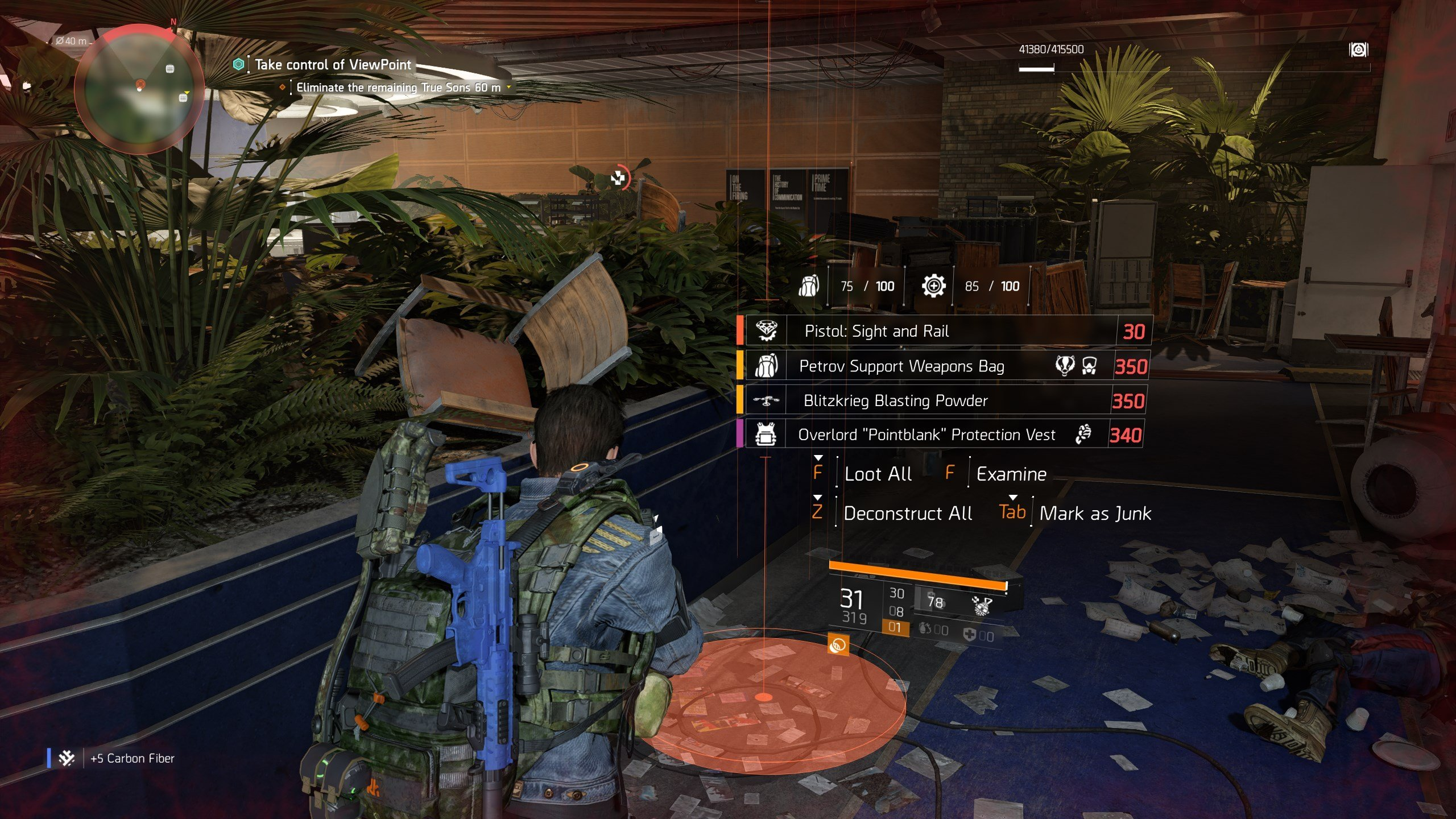 How to craft the Liberty Exotic Pistol in The Division 2