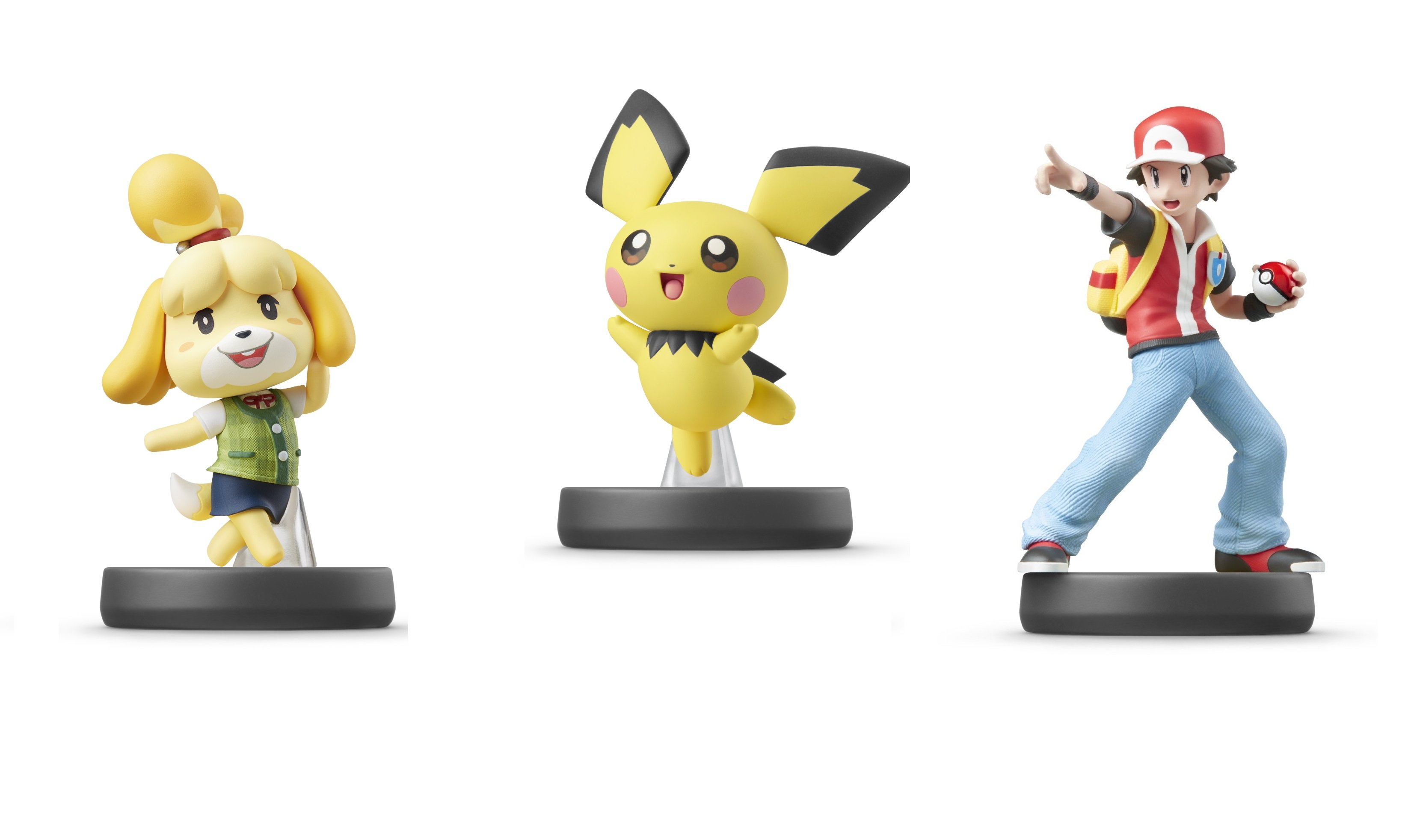 Pichu, Isabelle, and Pokemon Trainer amiibo will be available for purchase later this July.