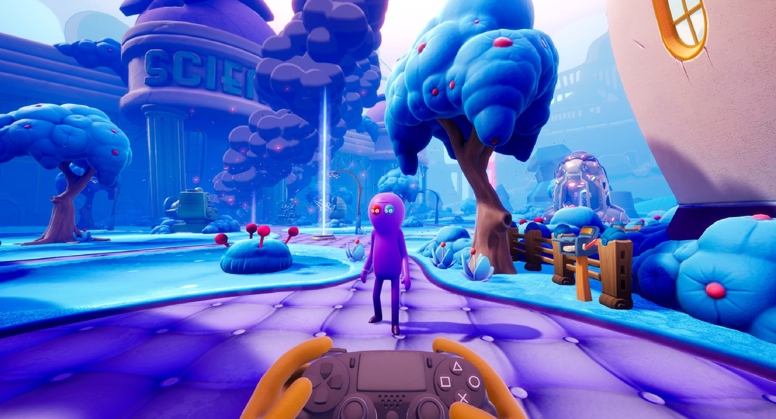 Trover Saves the Universe will release on PS4 and PSVR on May 31, and PC on Steam and the Epic Store on June 4.